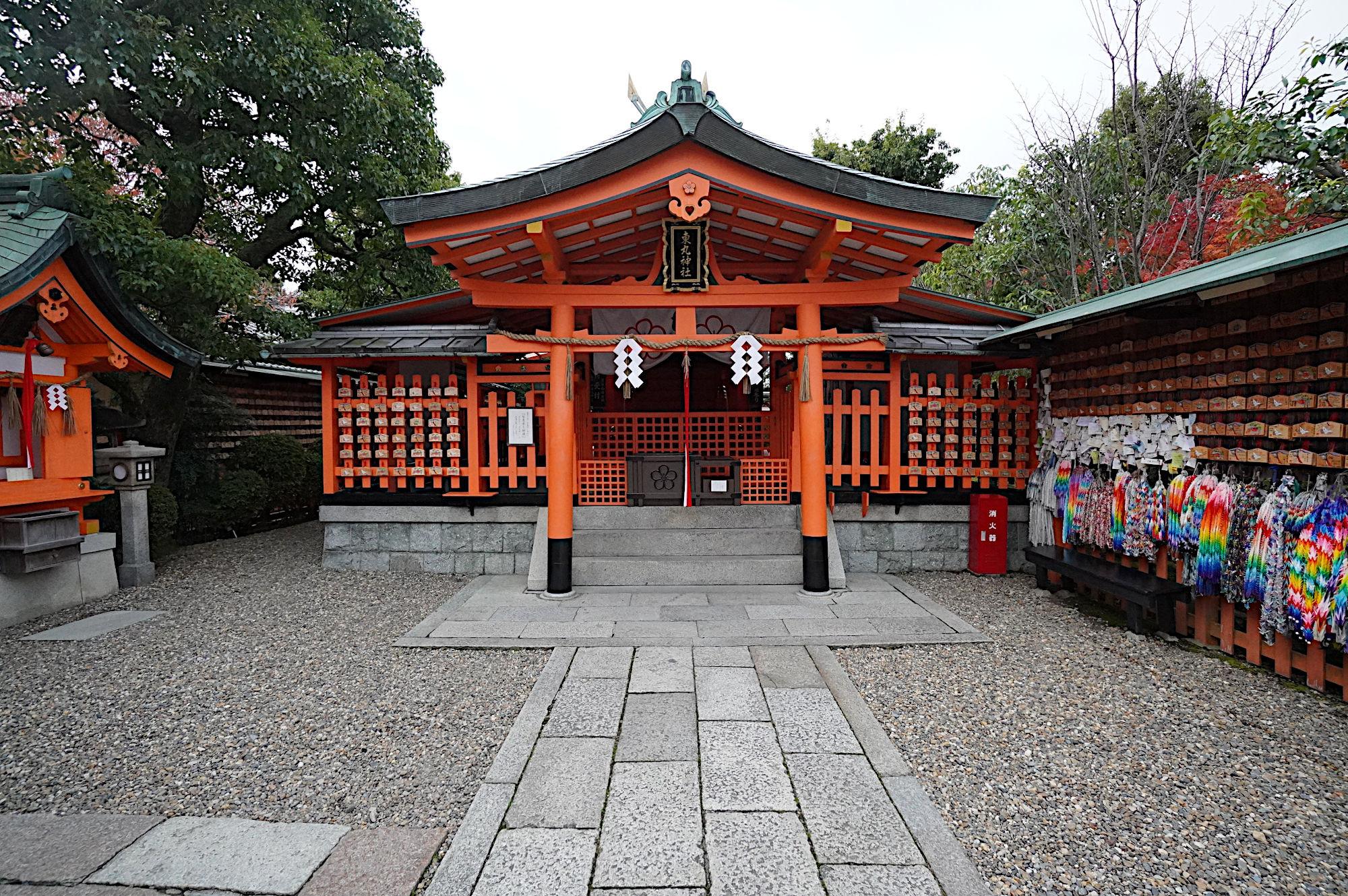 【伏見稲荷大社】東丸神社の拝殿