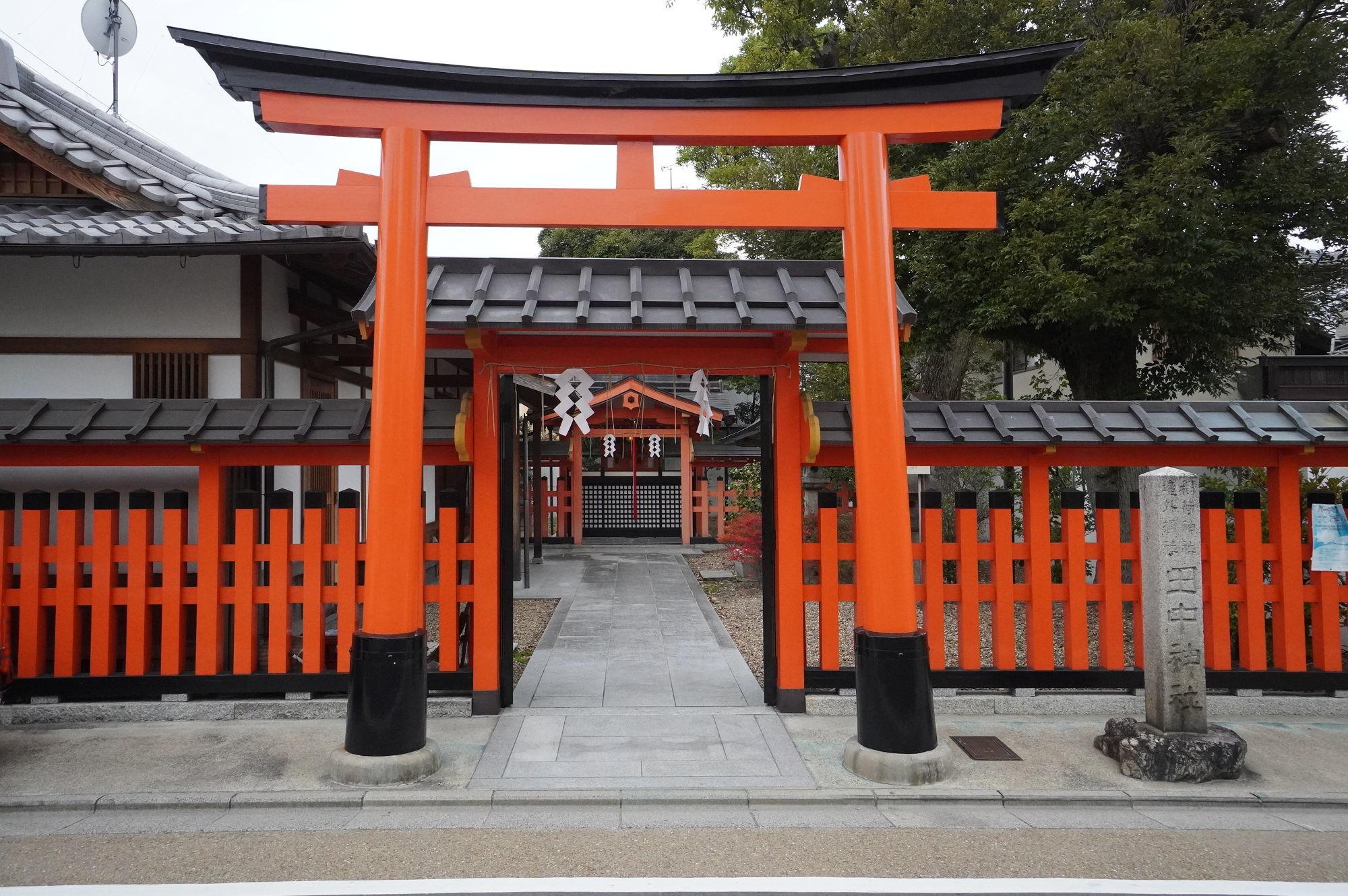 【伏見稲荷大社】田中神社の鳥居