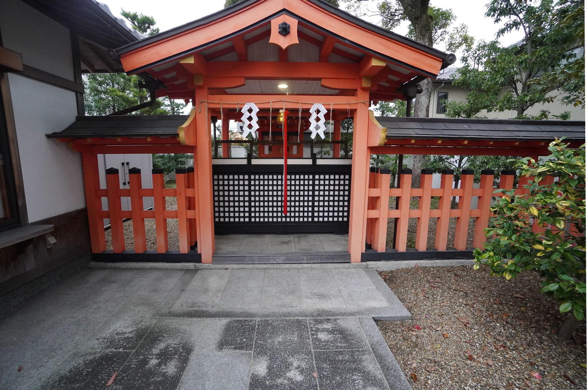 【伏見稲荷大社】田中神社の拝殿