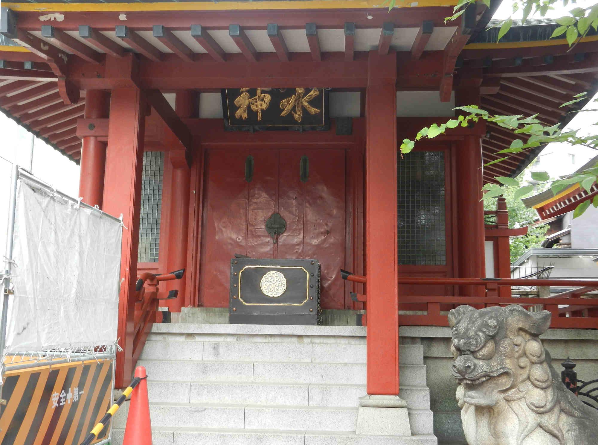 水神社(魚河岸水神社) <h3>aaaaaa