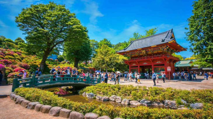 根津神社~文豪に愛された由緒ある神社です
