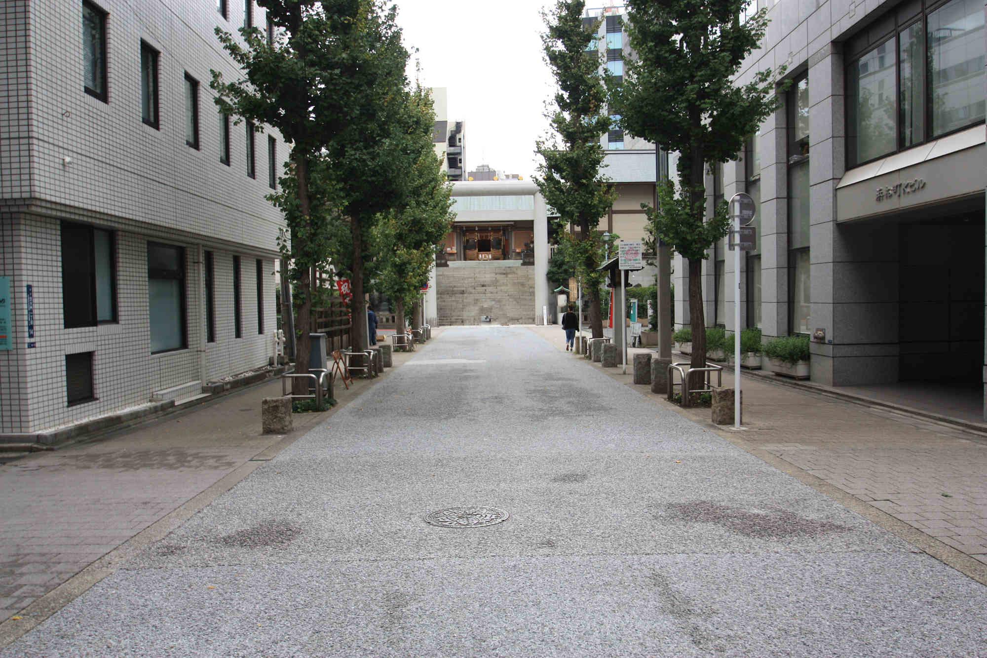 芝大神宮の参道