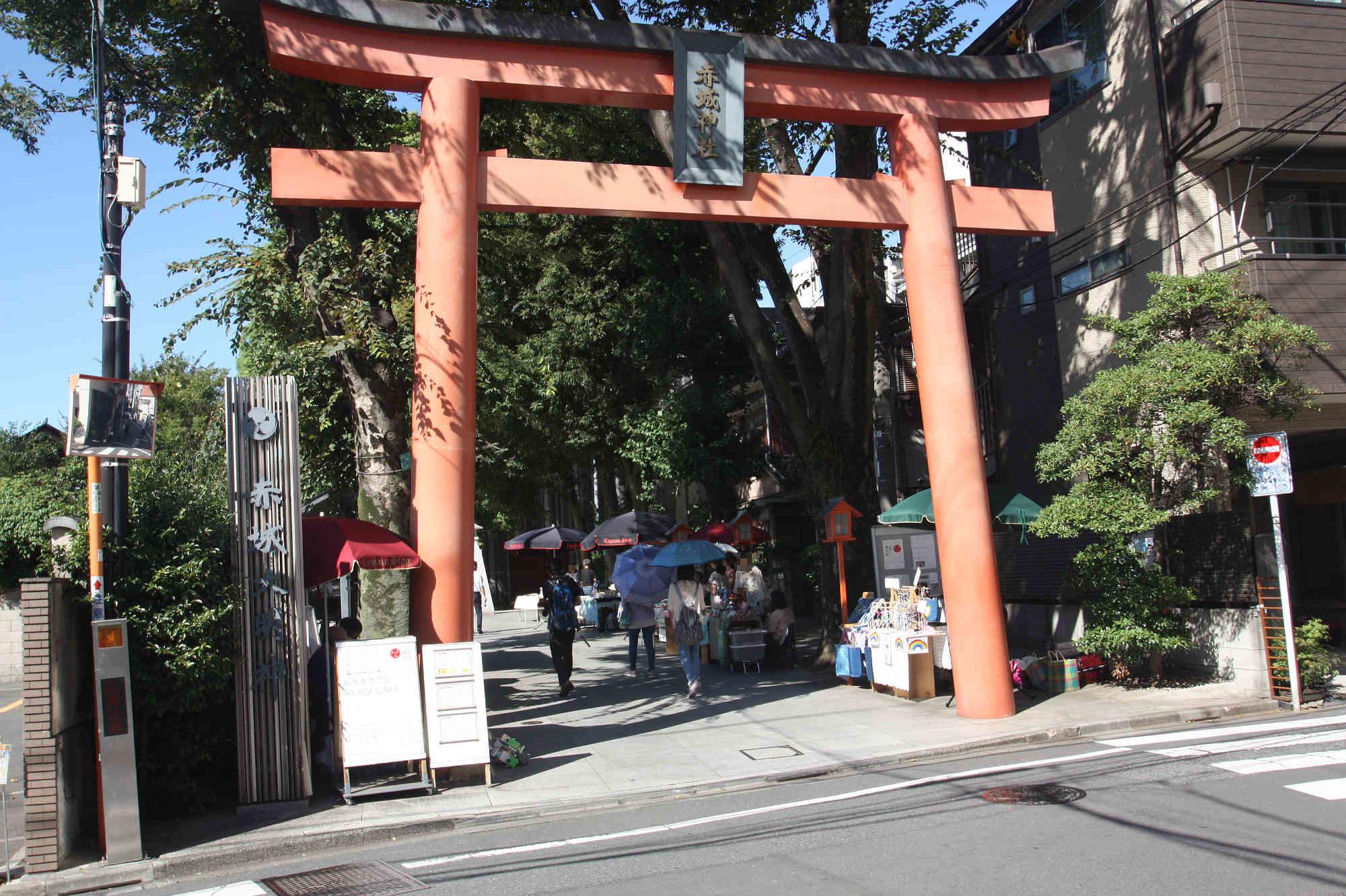赤城神社の大鳥居