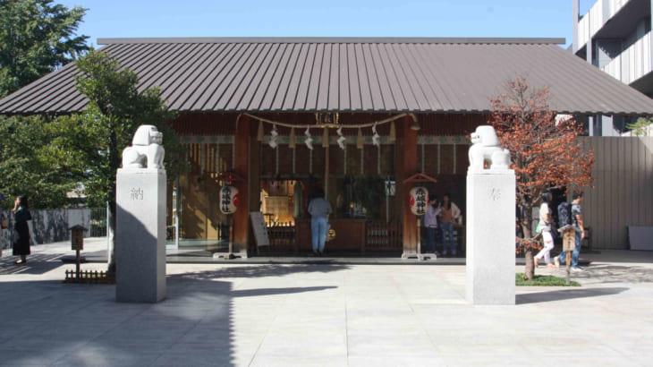 神楽坂のお洒落な神社「赤城神社」を参拝