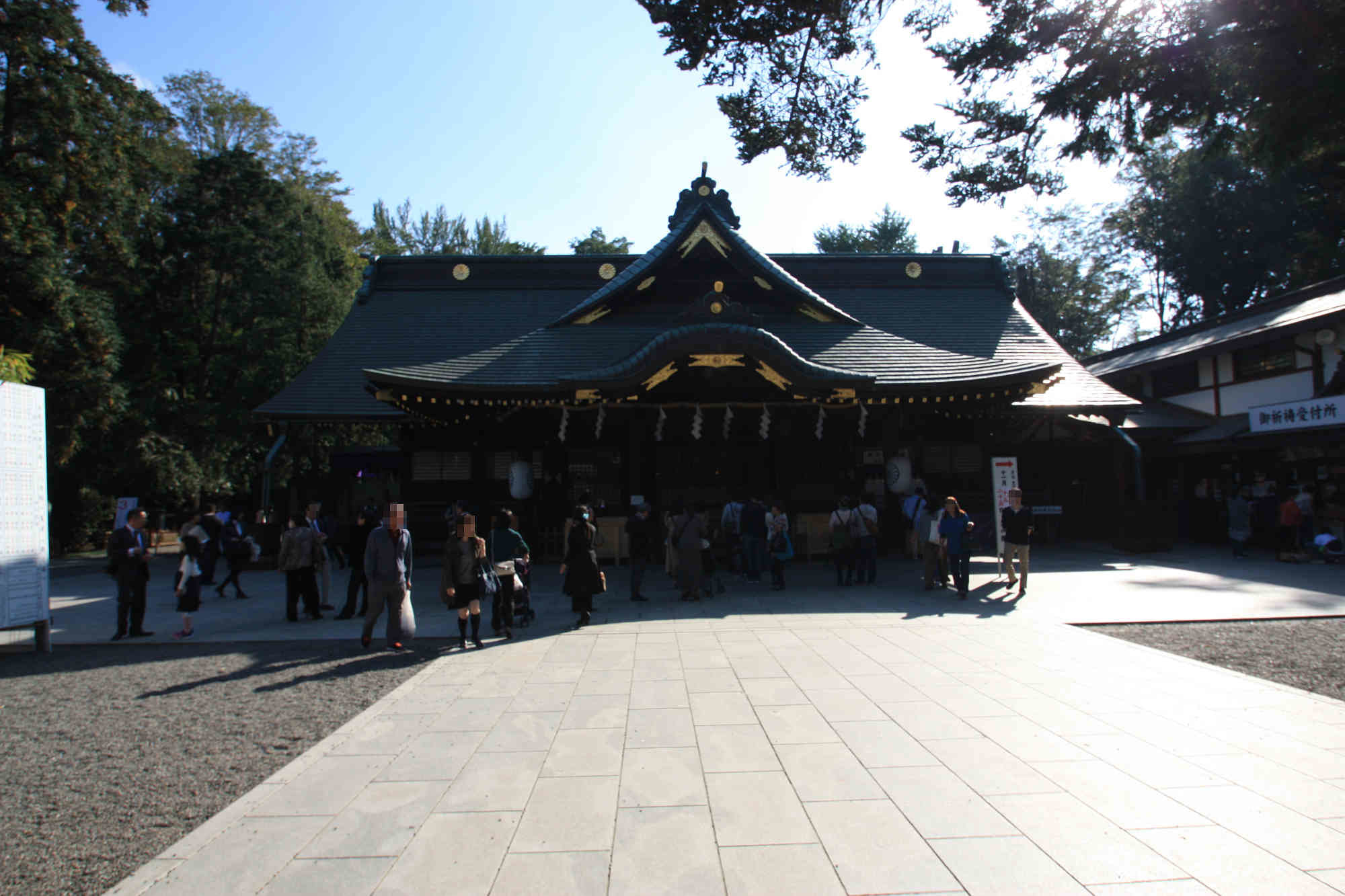 大國魂神社の拝殿