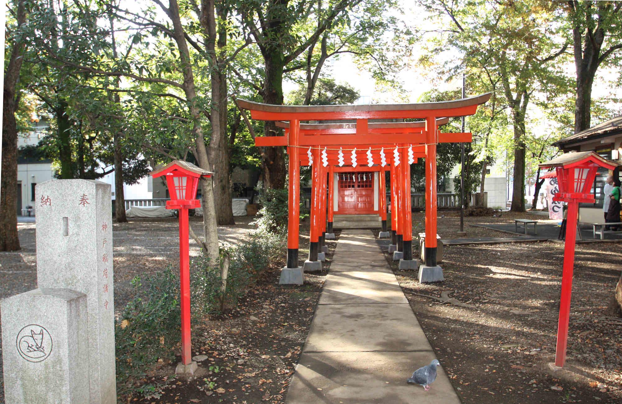 稲荷神社(神戸稲荷神社)