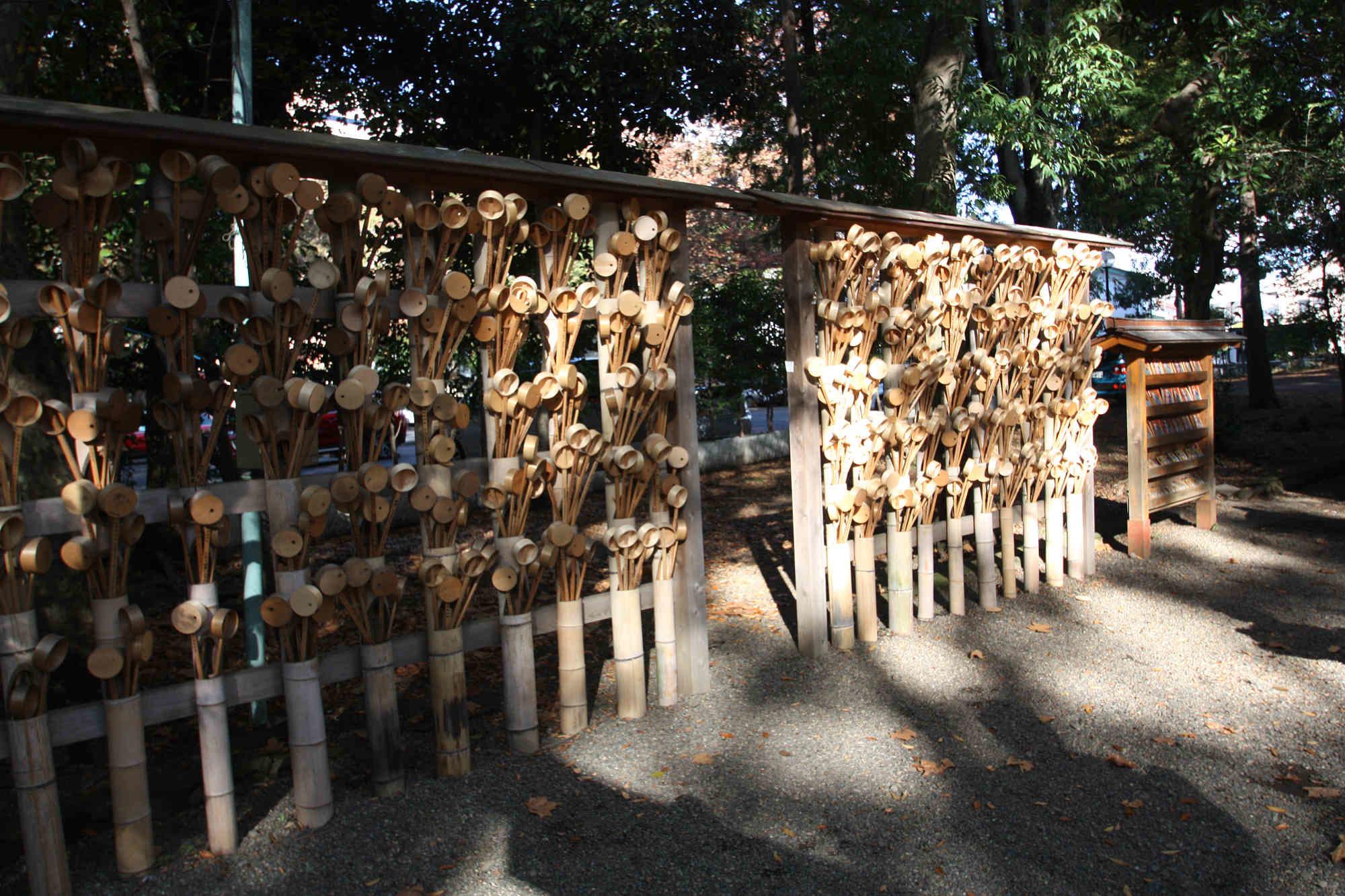 宮乃咩神社の柄杓