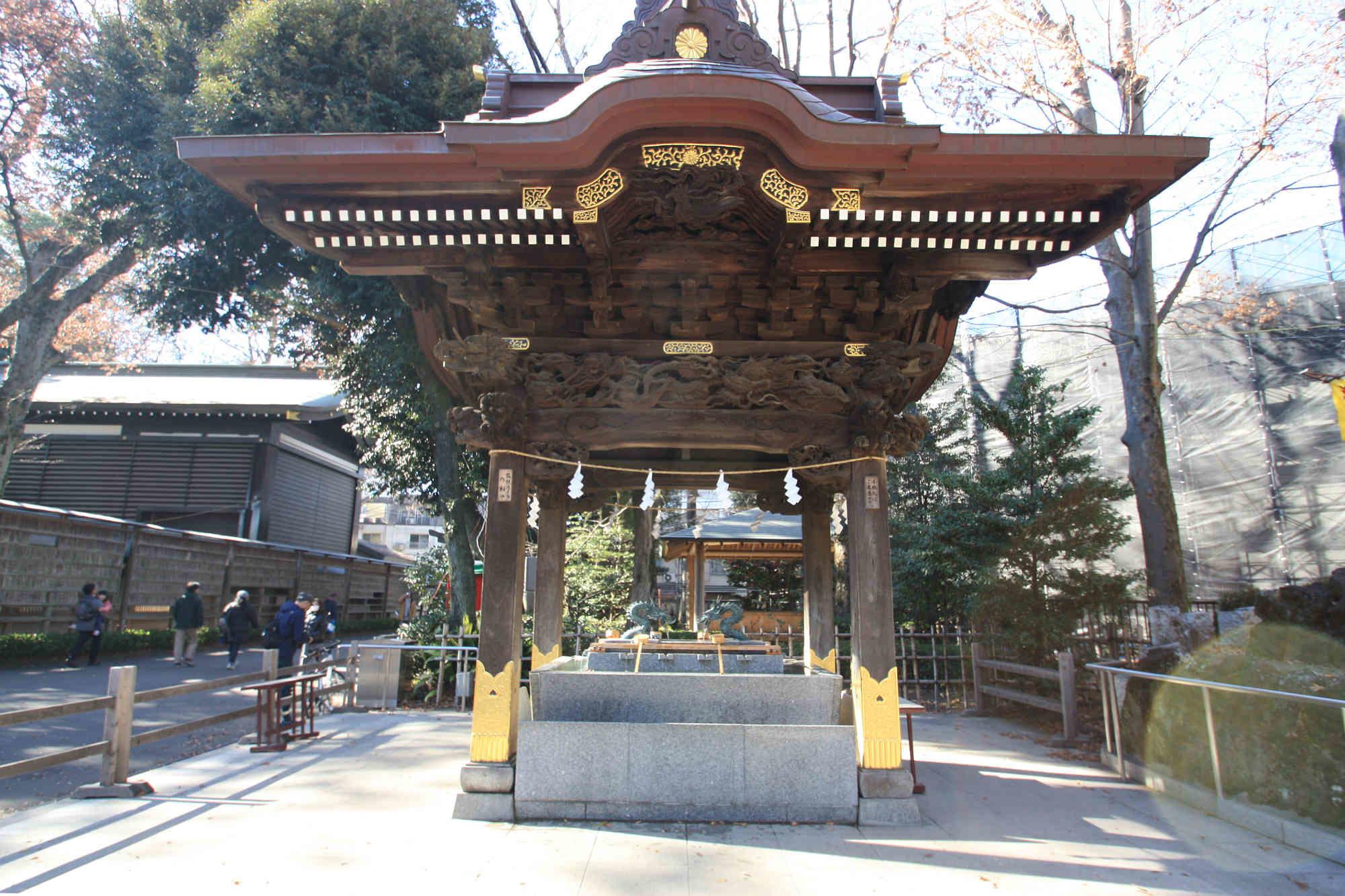 大國魂神社の手水舎