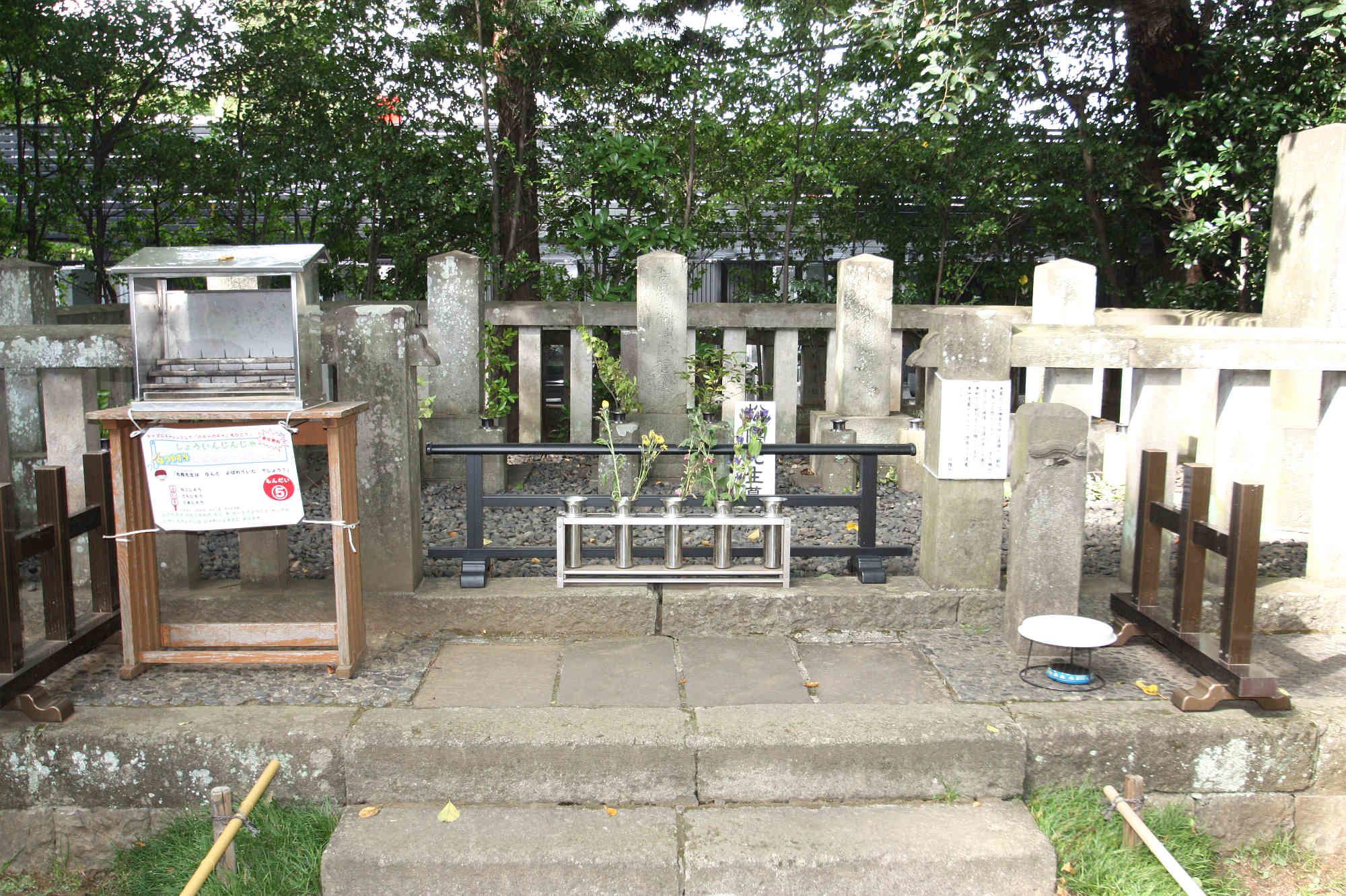 松陰先生のお墓