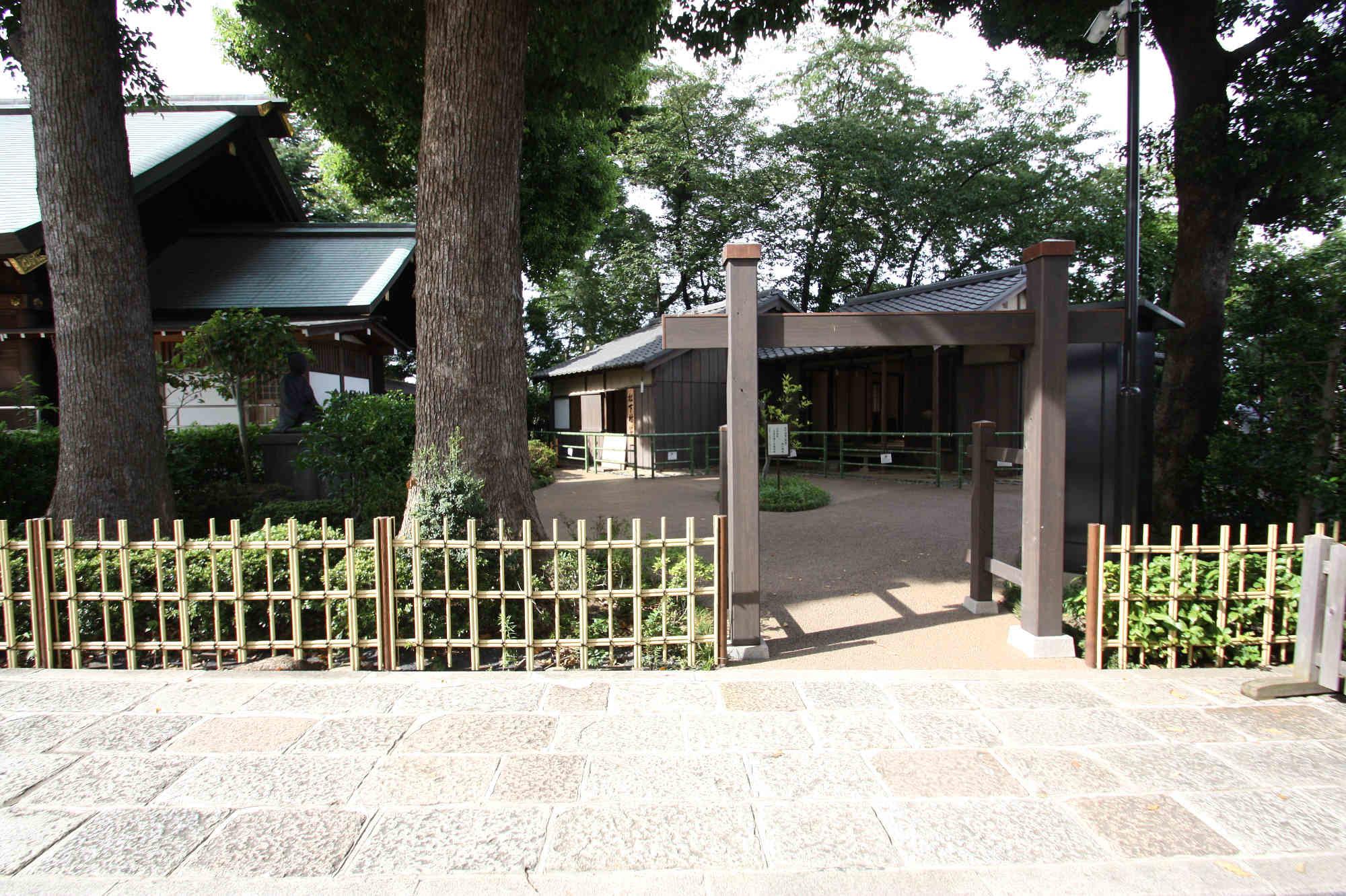 松下村塾の入り口