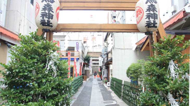 【新橋】烏森神社~カラフルな御朱印を頂けます