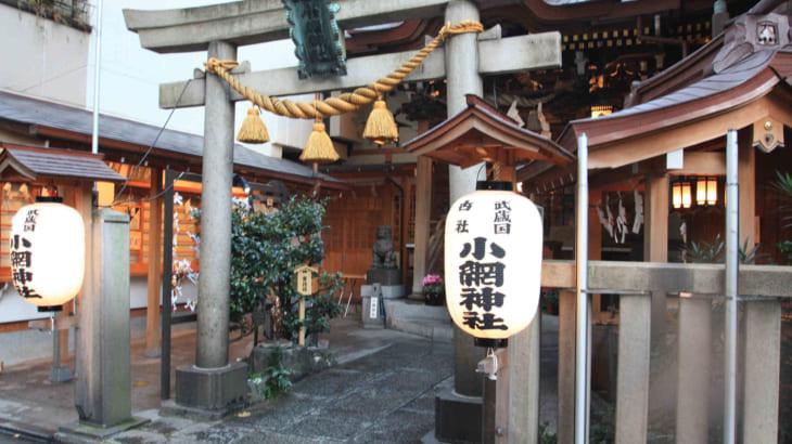 小網神社と東京銭洗い弁天社
