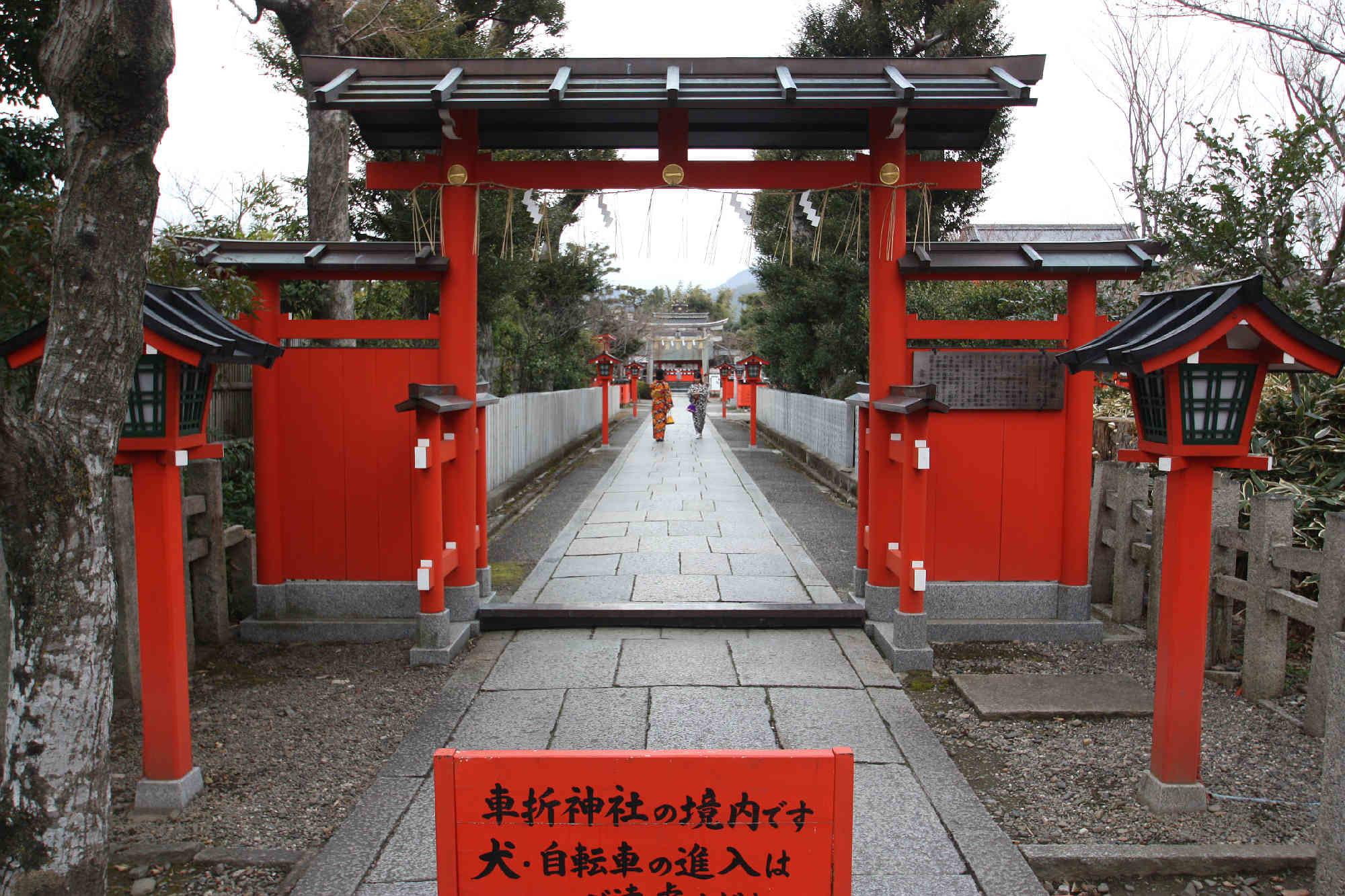 車折神社の表参道