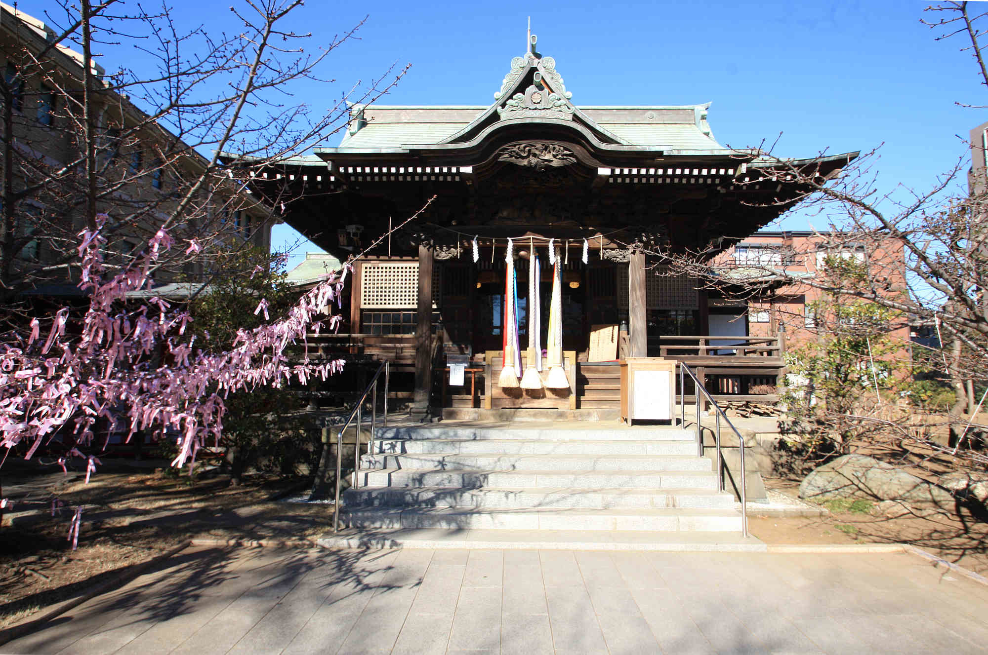 桜神宮 本殿(神殿)