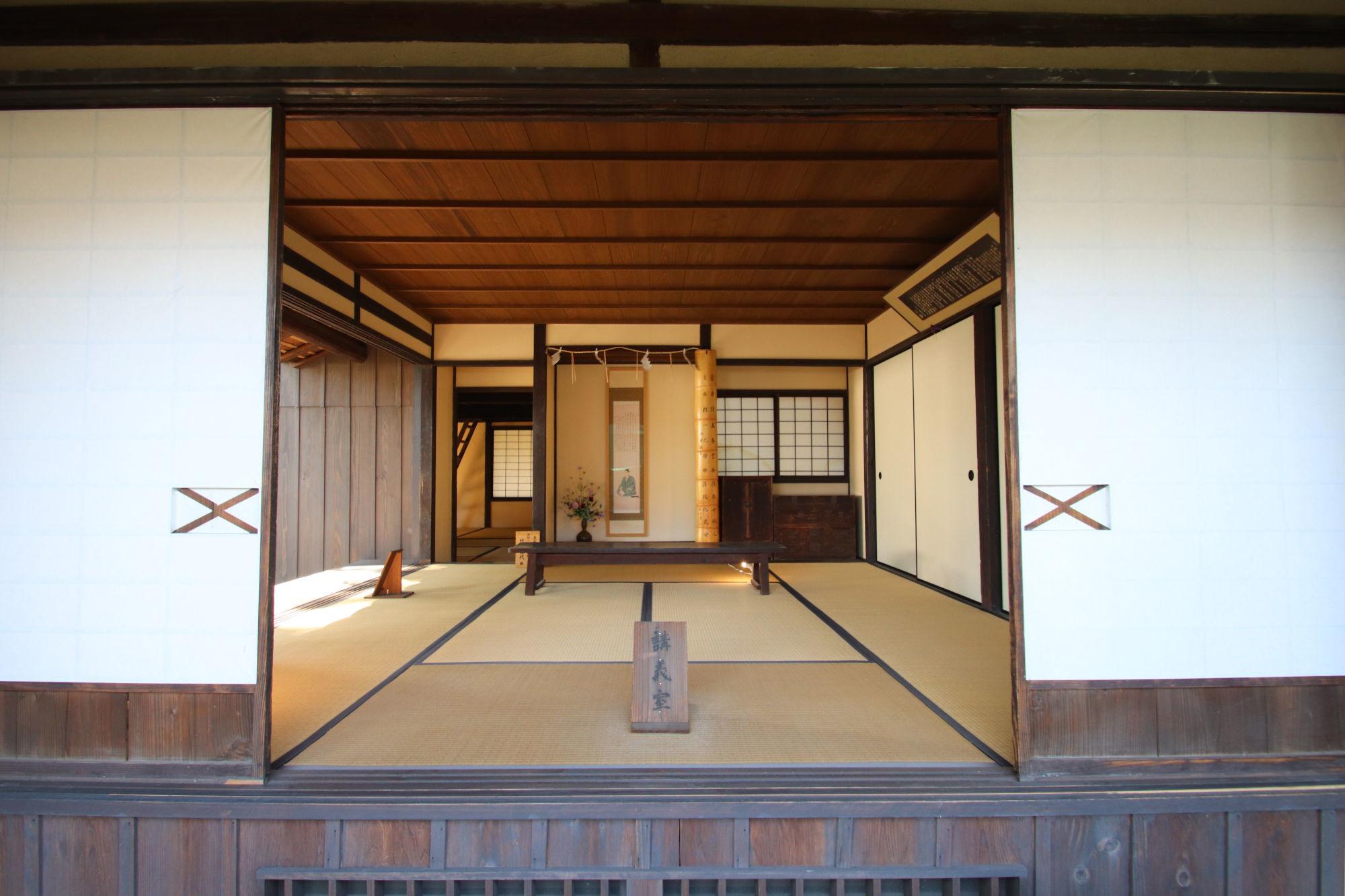 松下村塾の講義堂