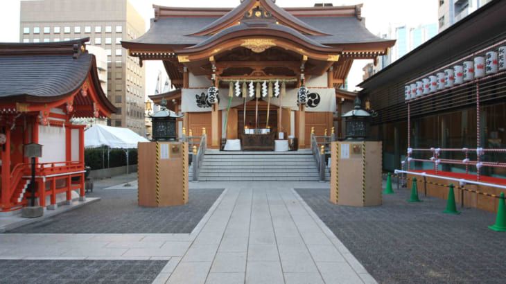 水天宮~安産祈願・子授け祈願に人気の都内の神社です