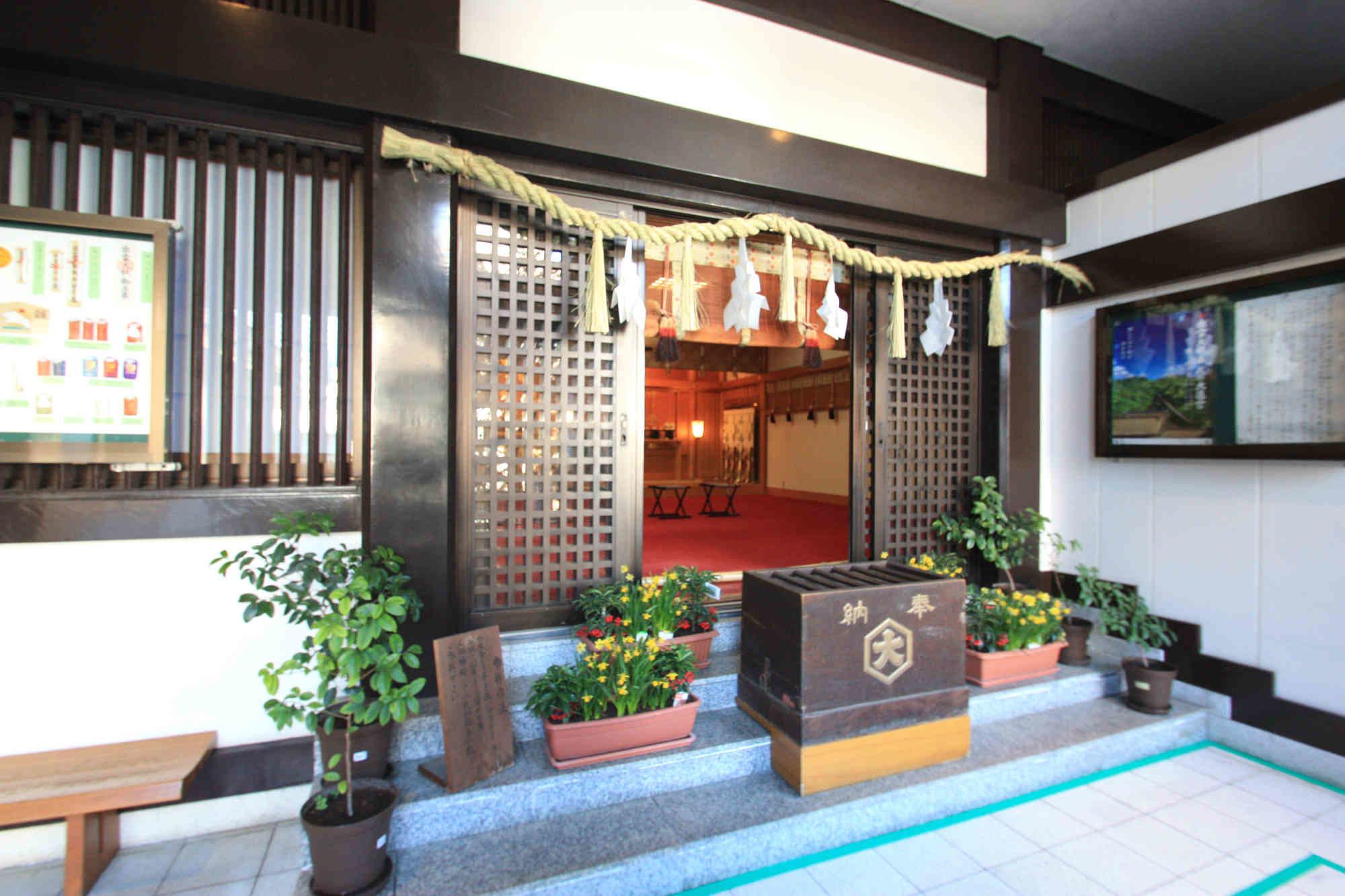 出雲大社東京分祀の拝殿(本殿)