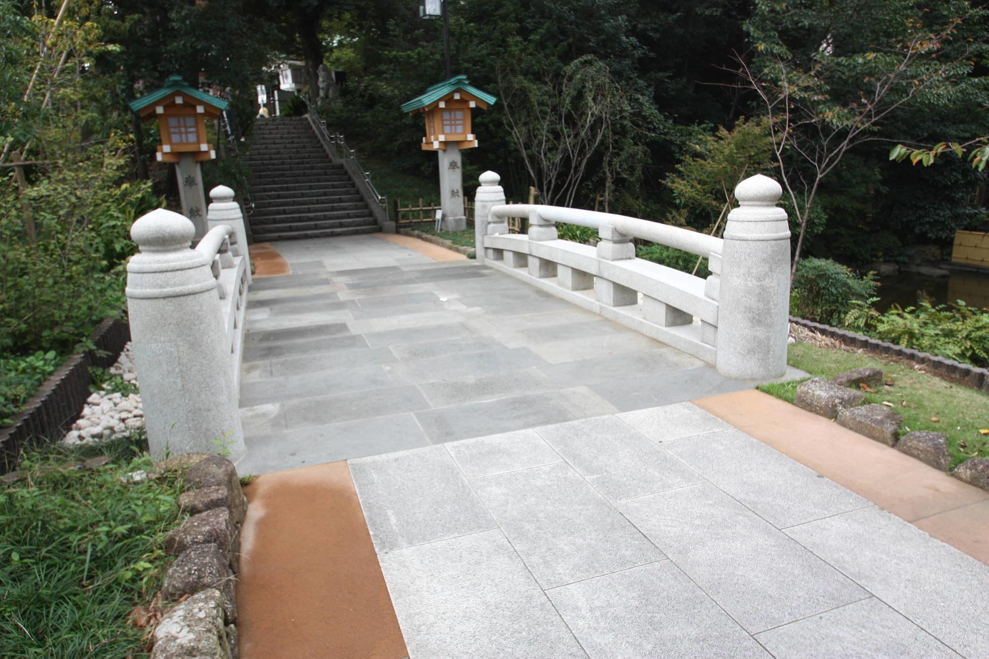 東郷神社 橋