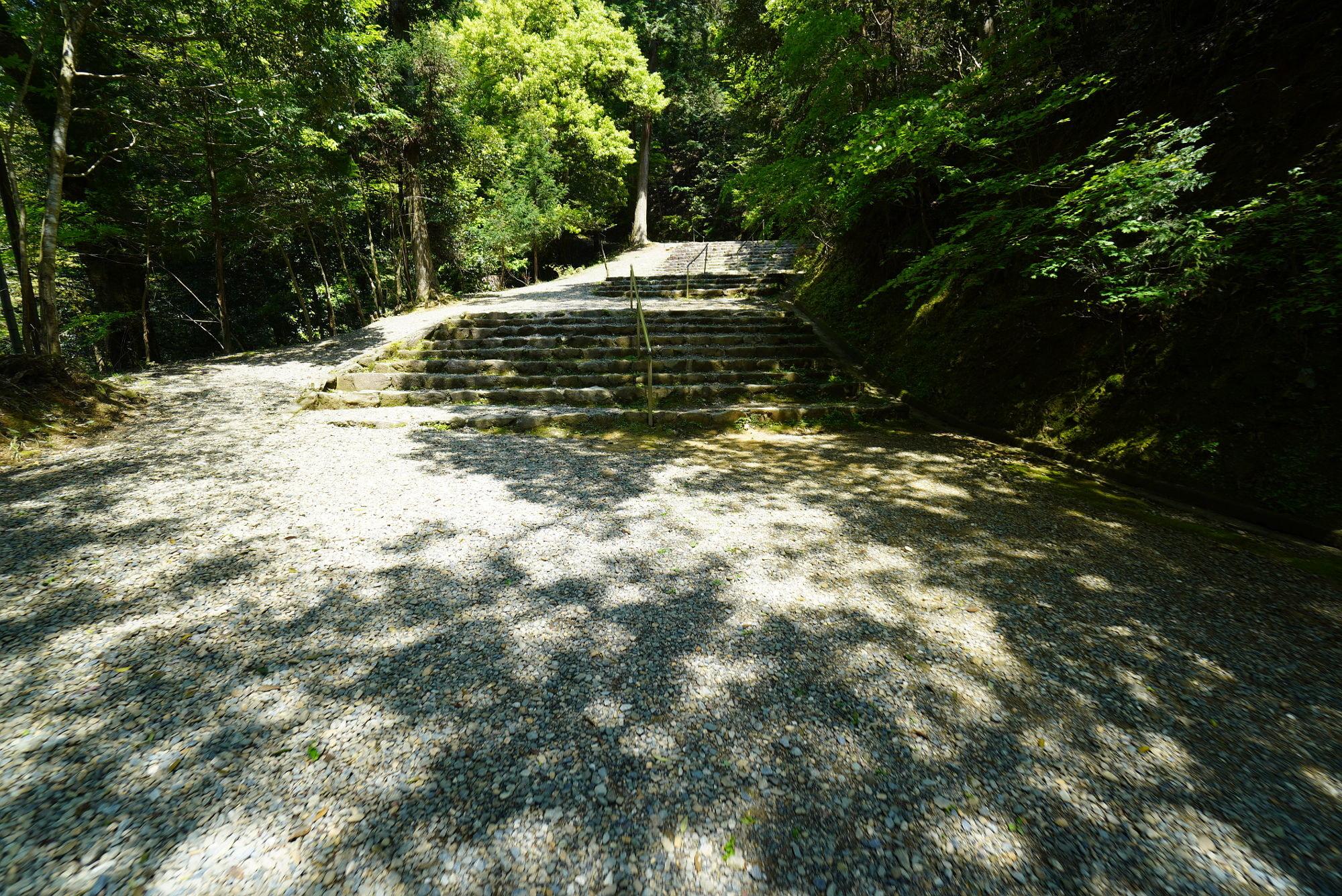 皇大神社の参道