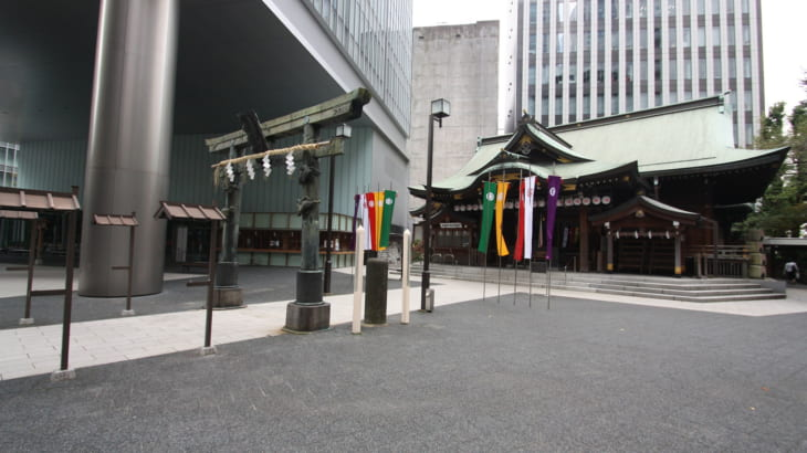 【港区】虎ノ門金刀比羅宮と縁結び神社「結神社」へ