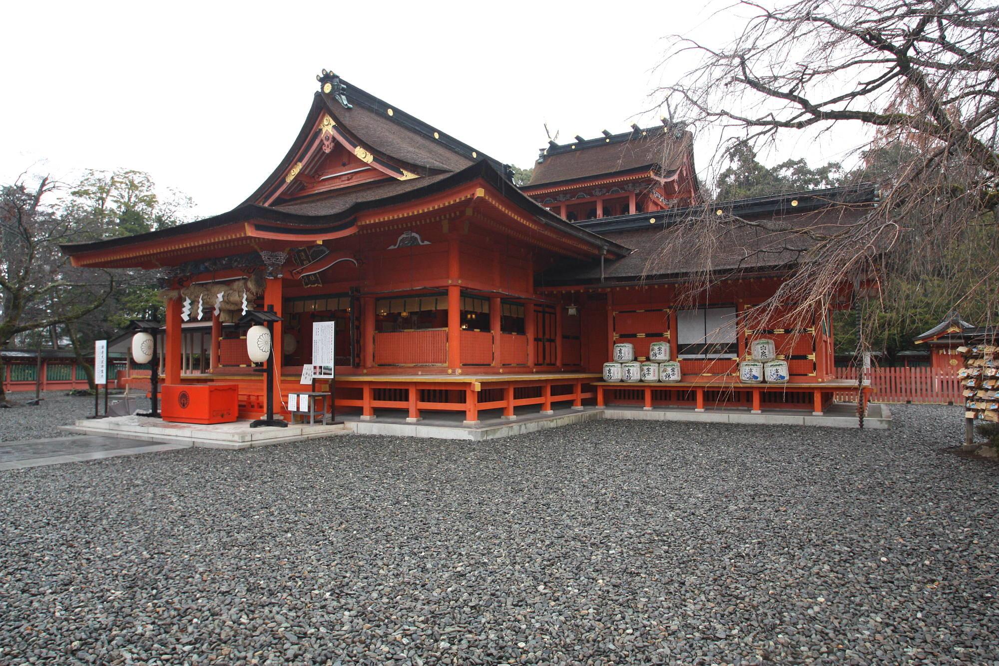 富士山本宮浅間大社の社殿