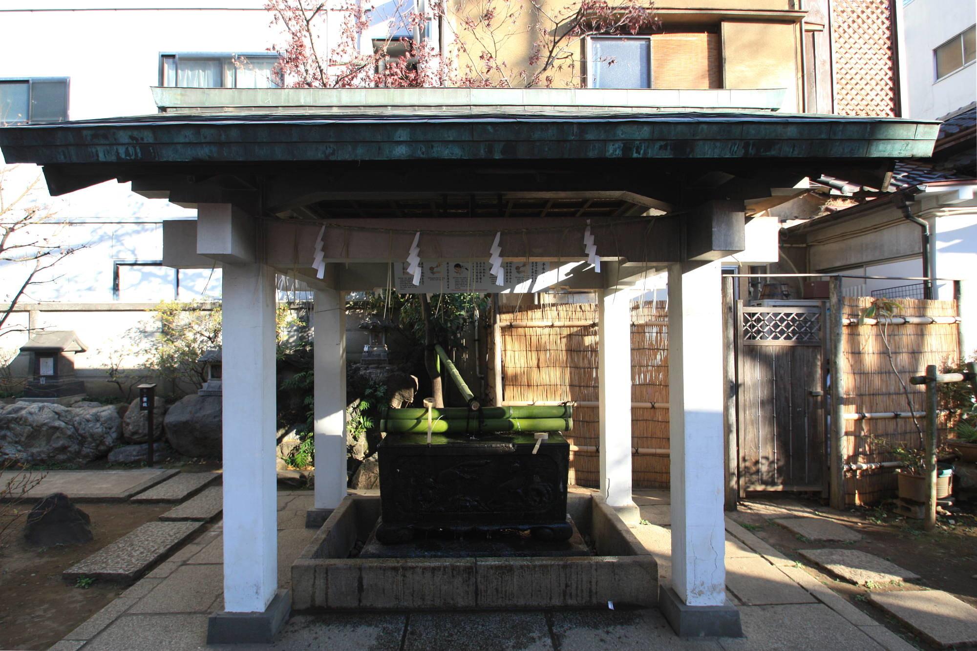 皆中稲荷神社の手水舎