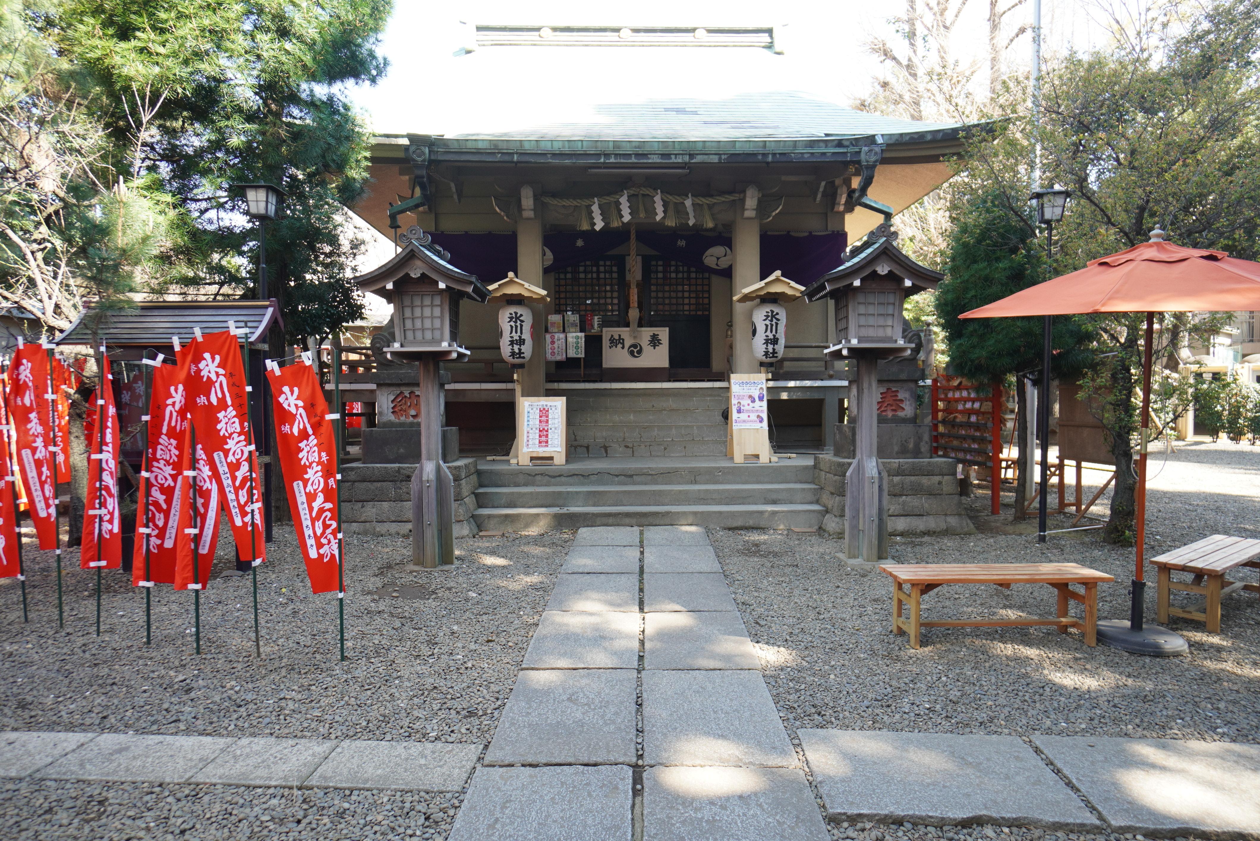 上目黒氷川神社の社殿(本殿)