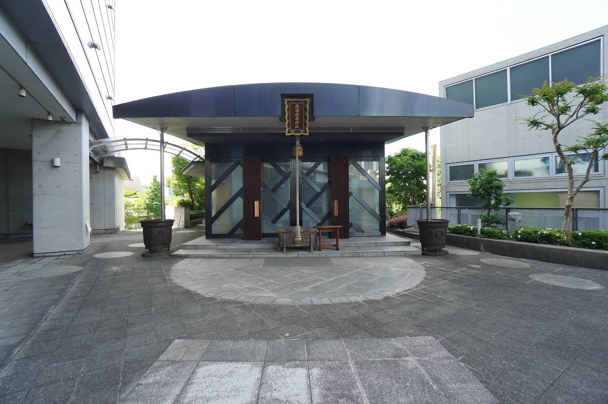 北谷稲荷神社の本殿(社殿)
