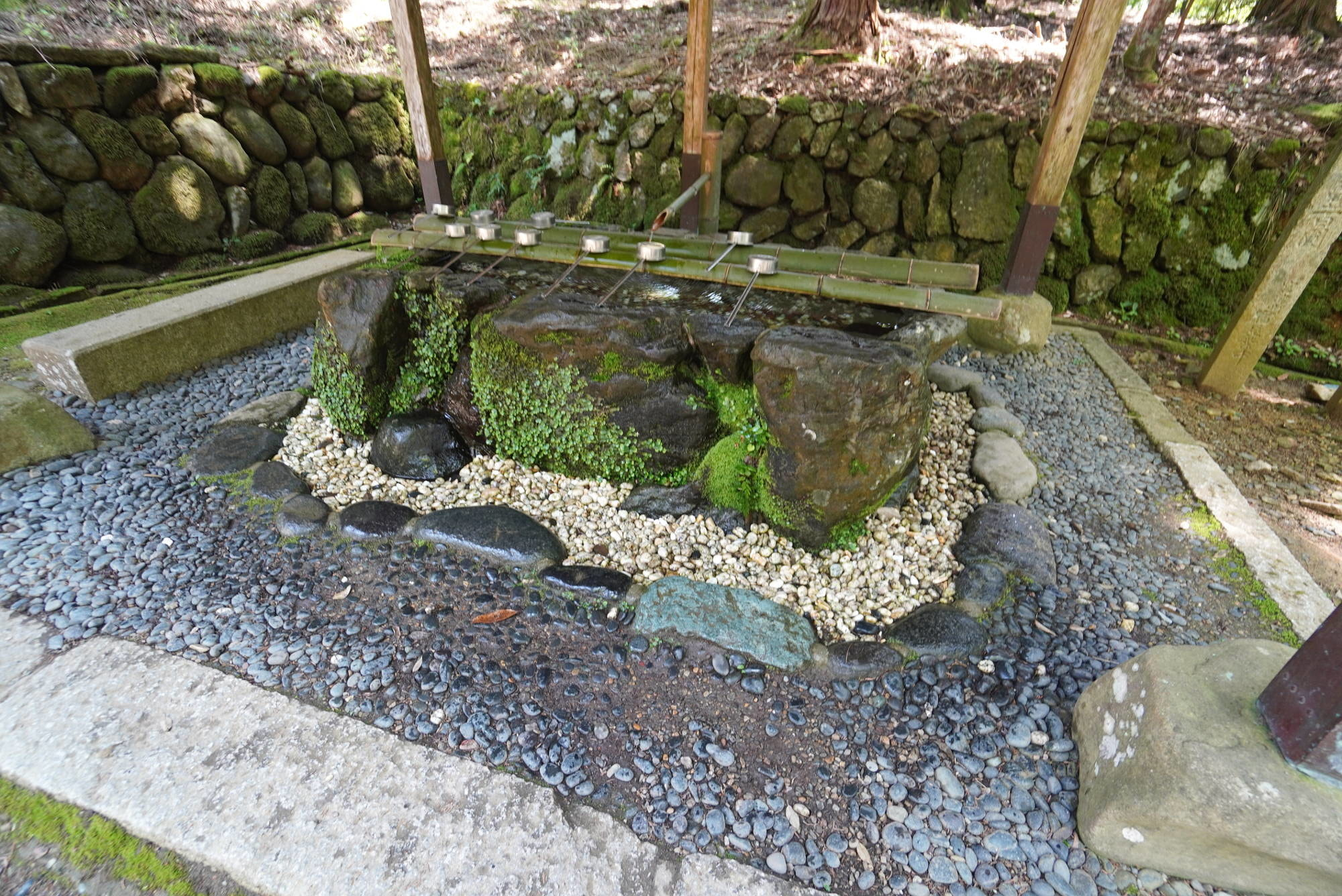 皇大神社の手水舎
