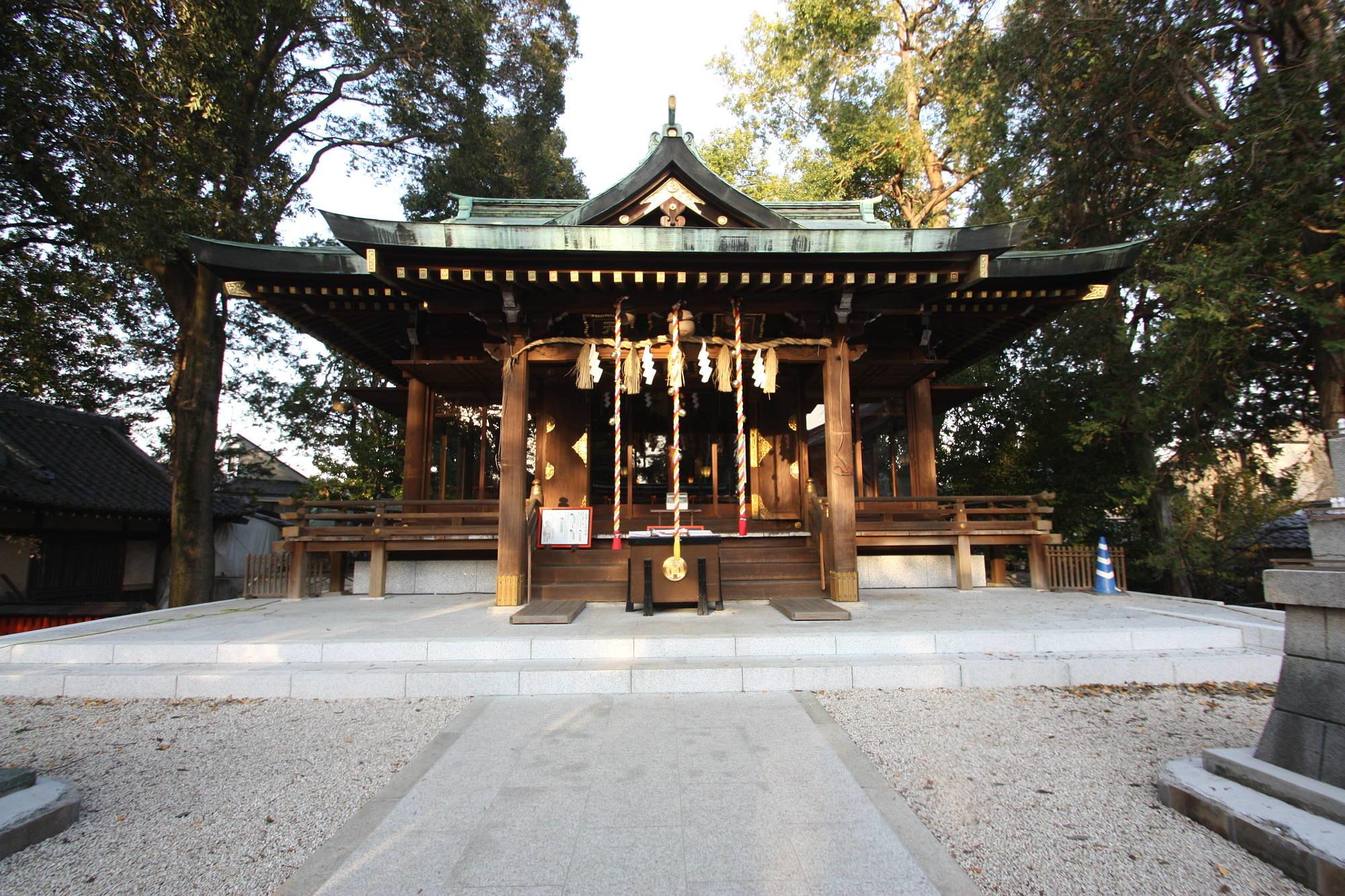 馬橋稲荷神社の社殿