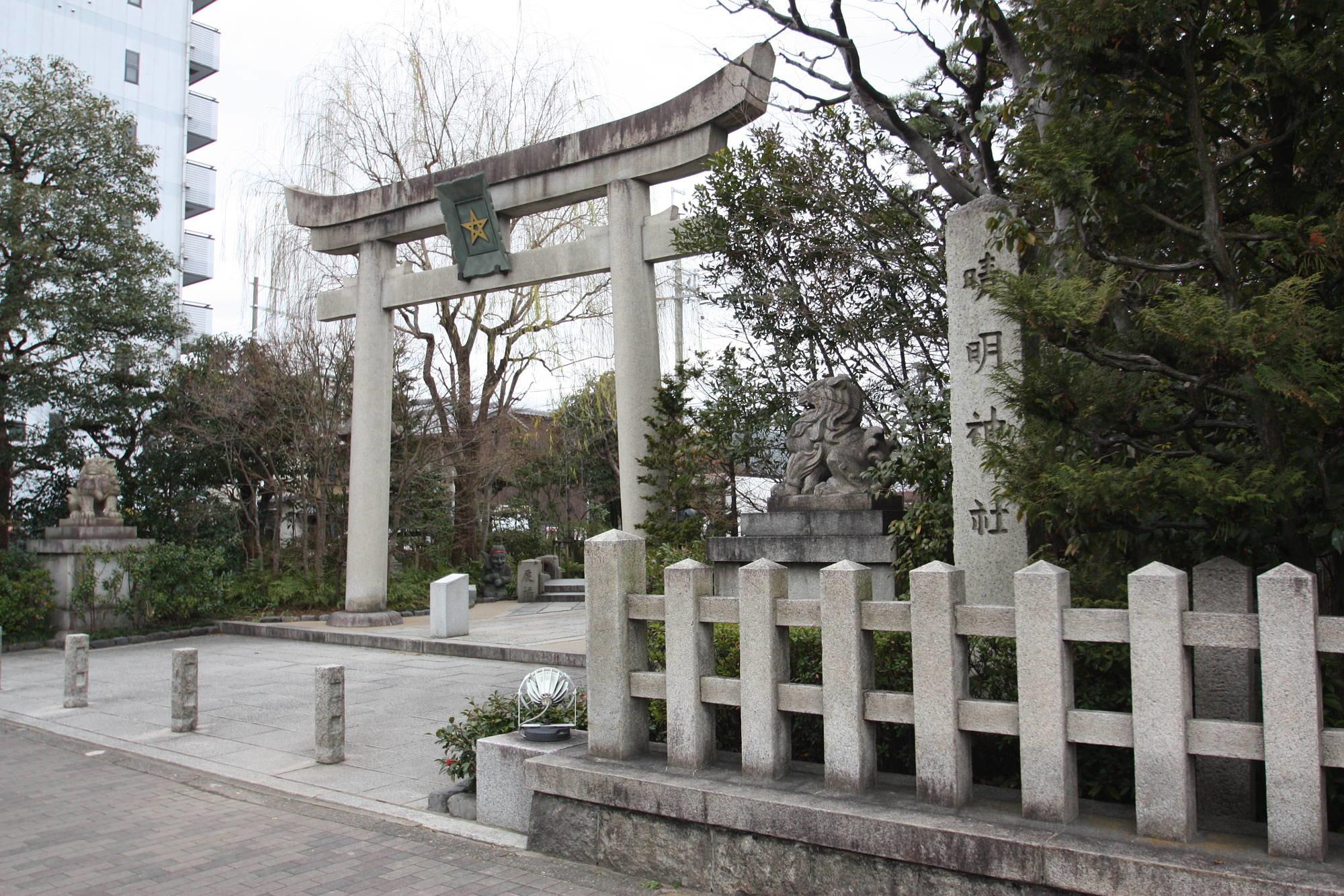 晴明神社 一の鳥居