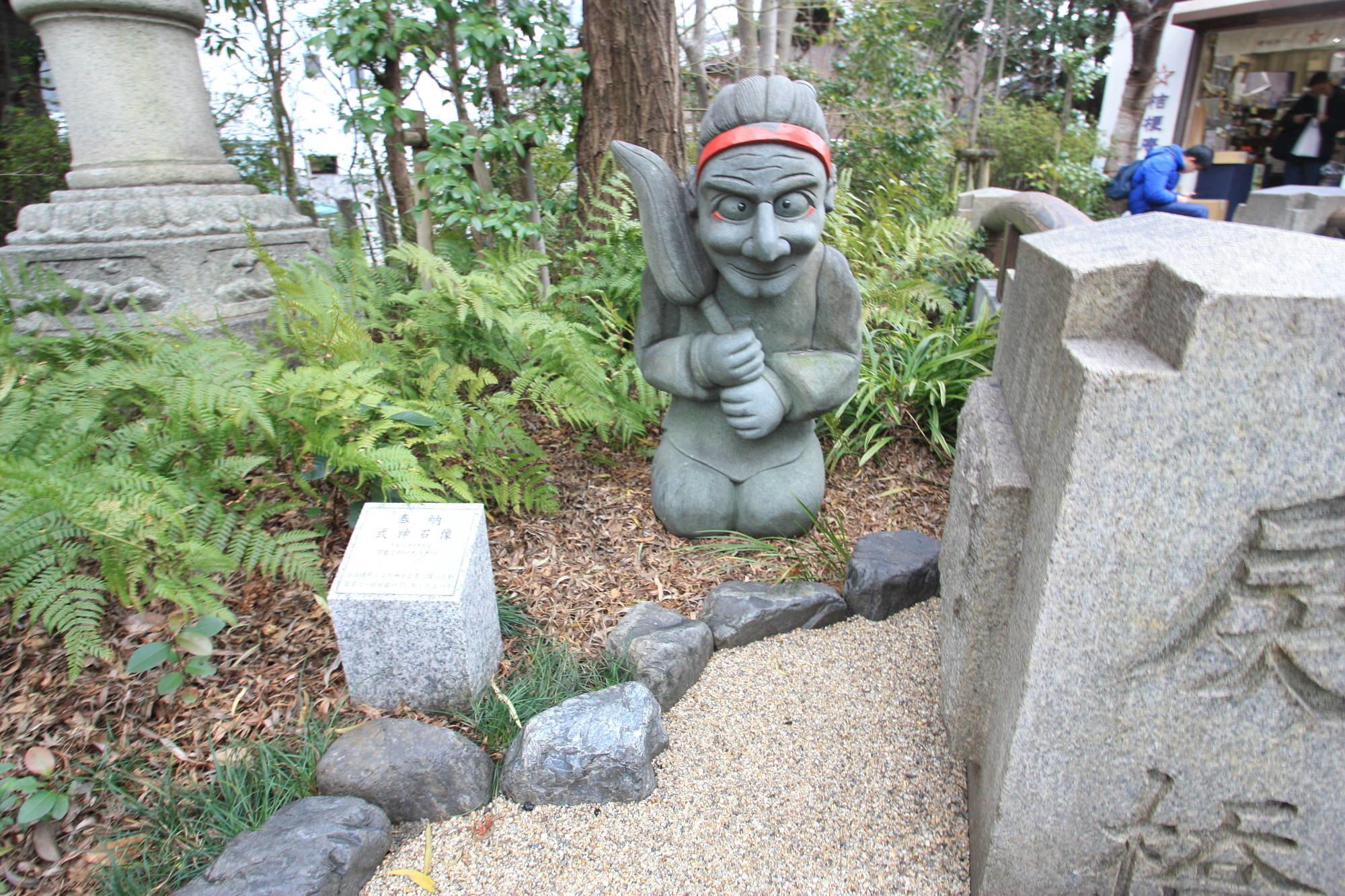 式神の石像