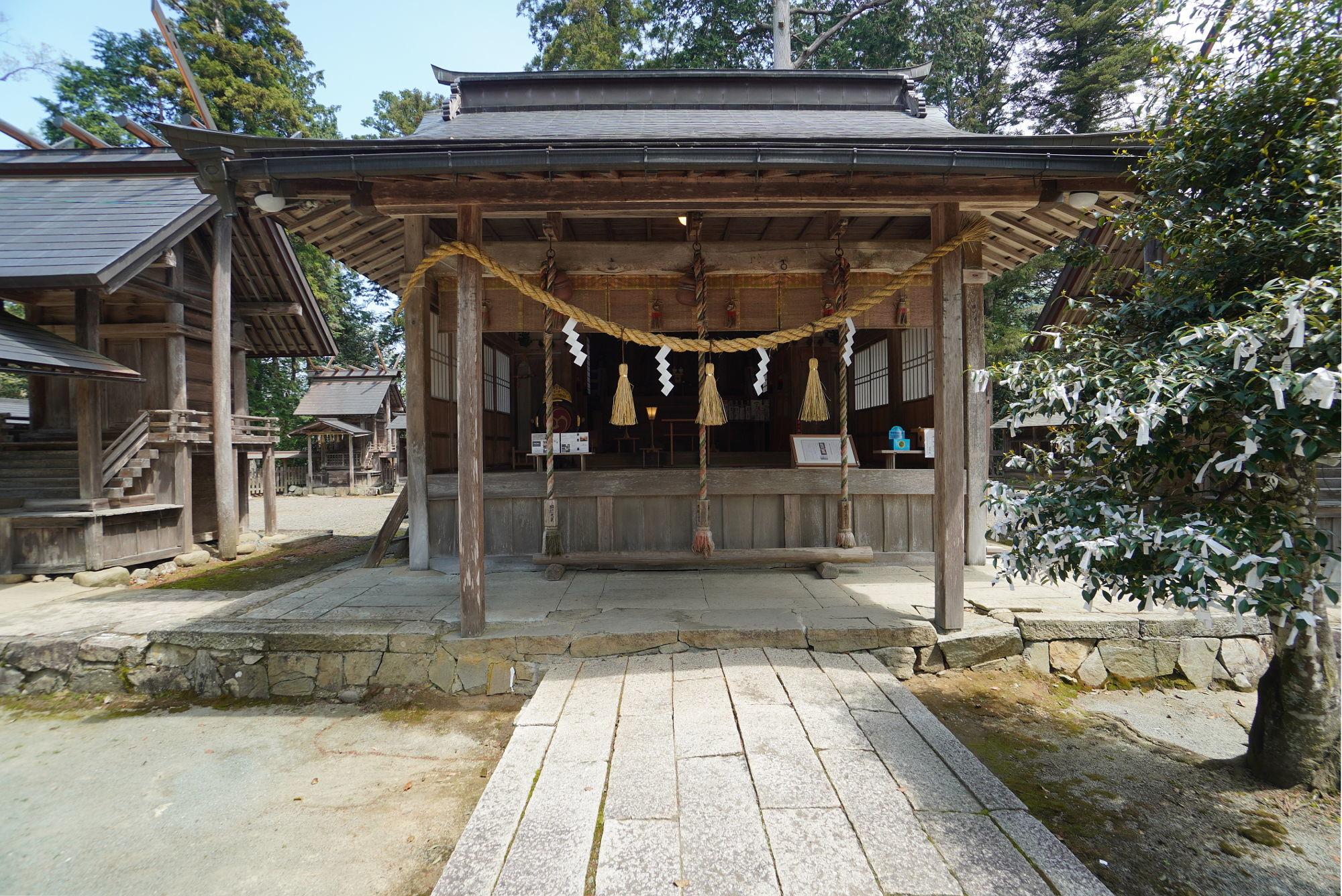 豊受大神社の本殿