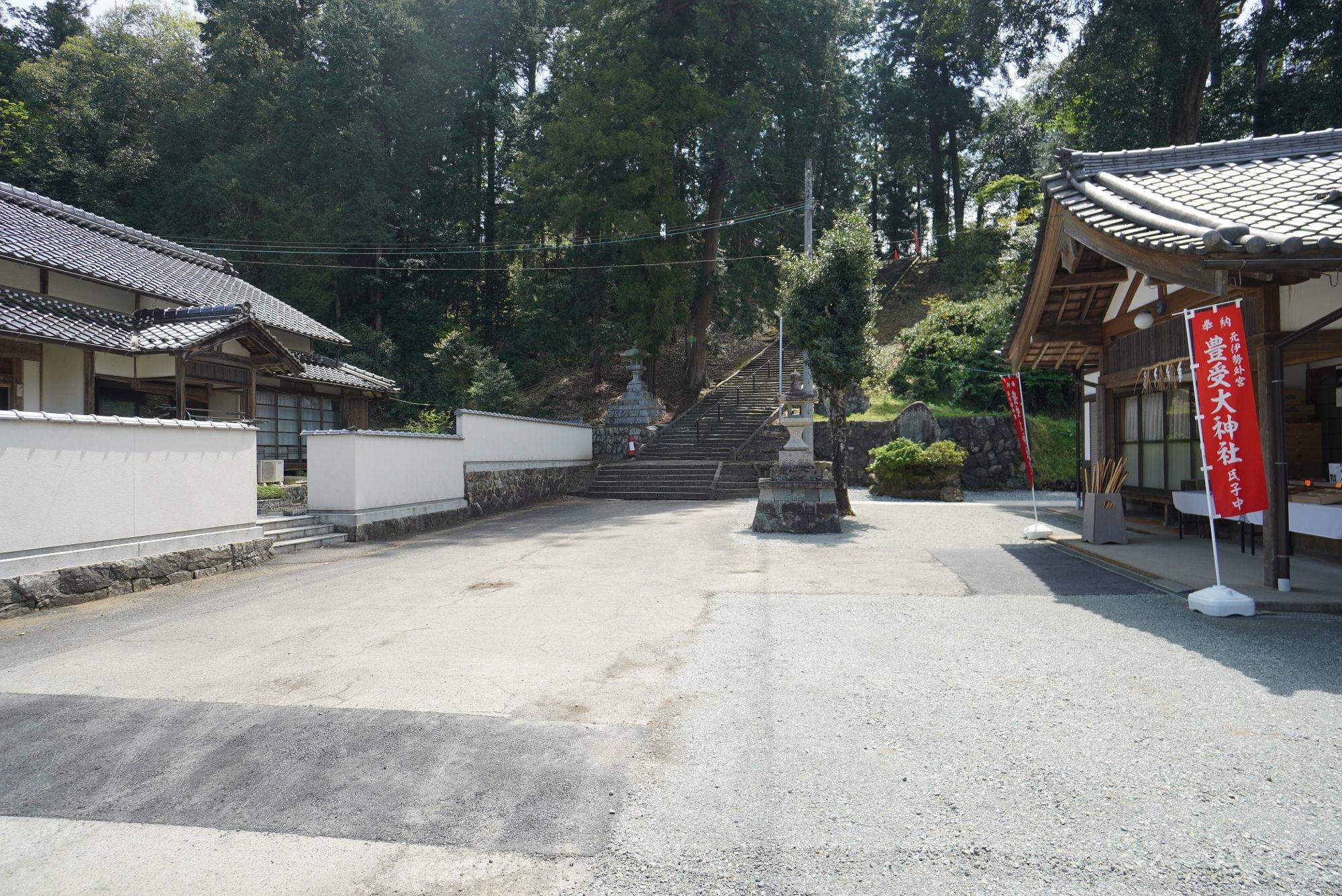 豊受大神社の敷地