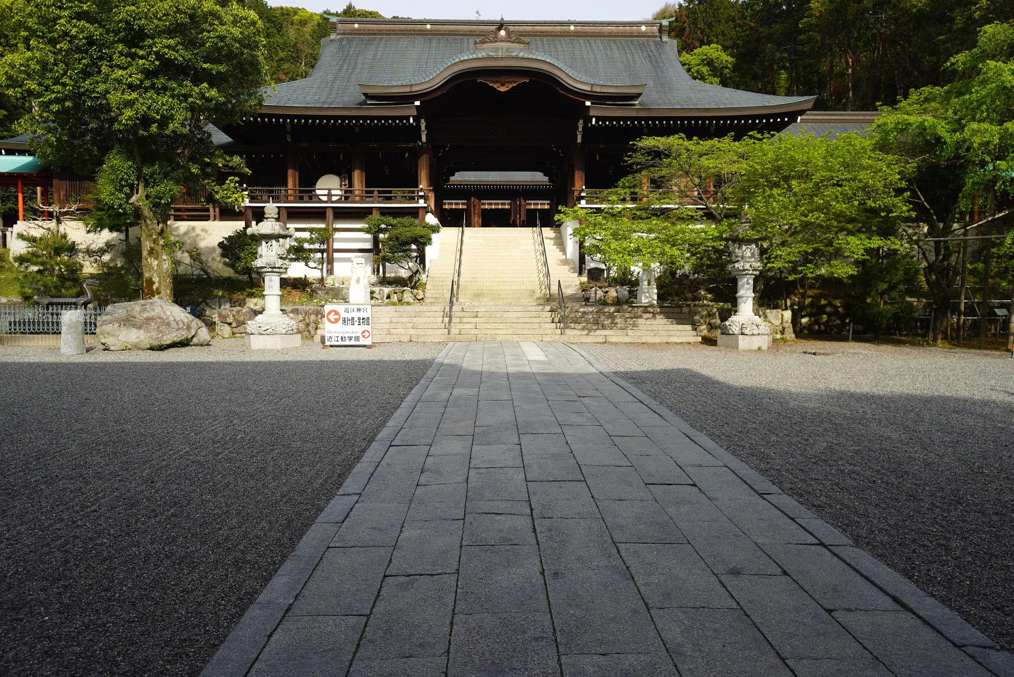 近江神宮「外拝殿」