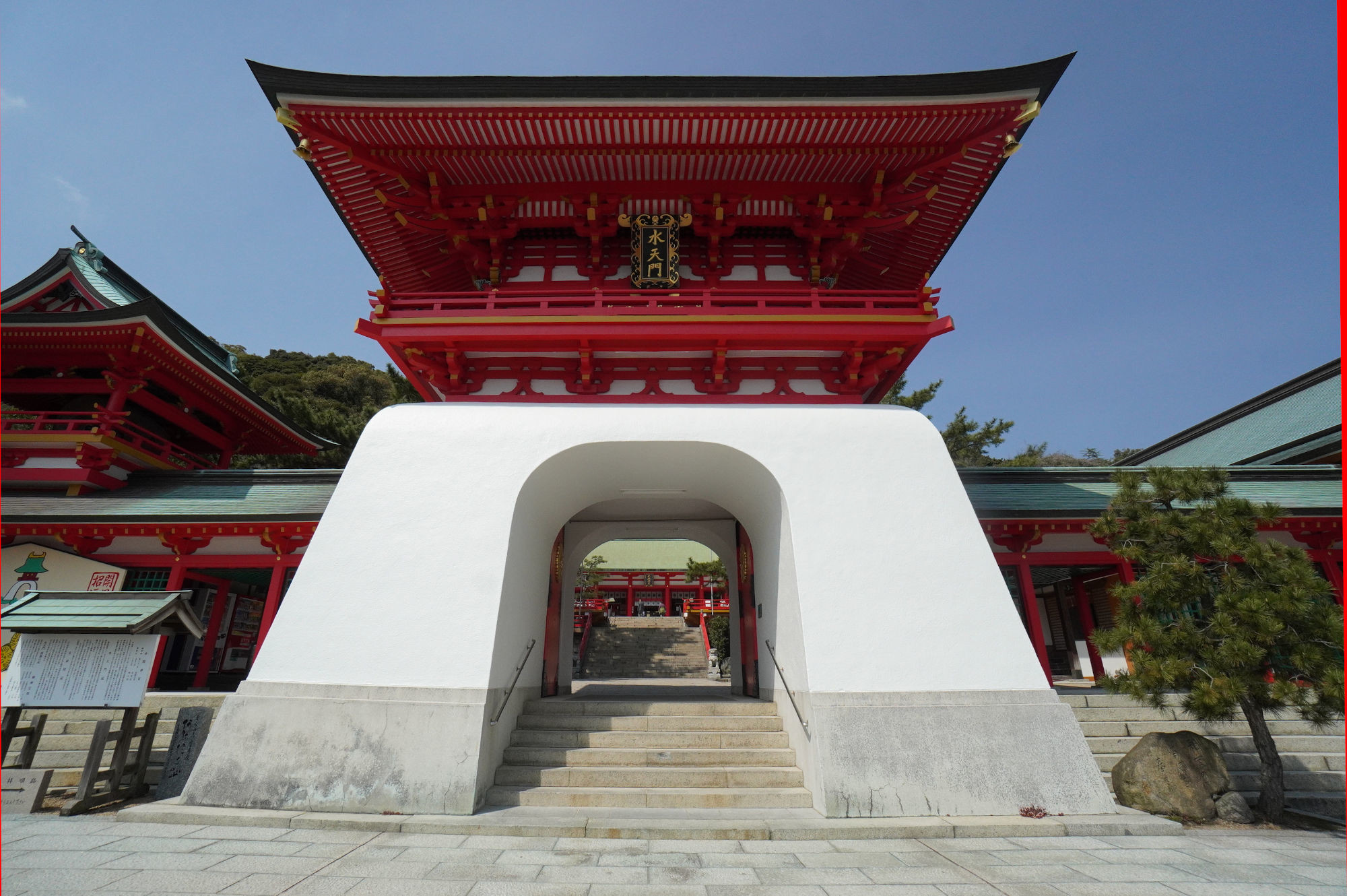 赤間神宮の水天門