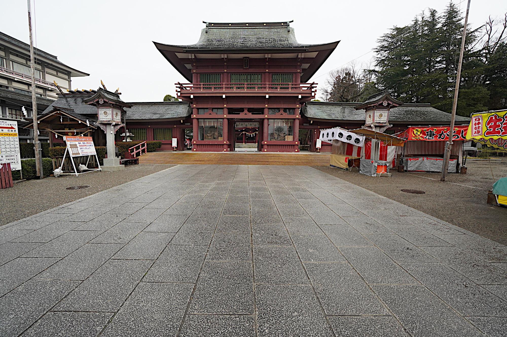 笠間稲荷神社の楼門