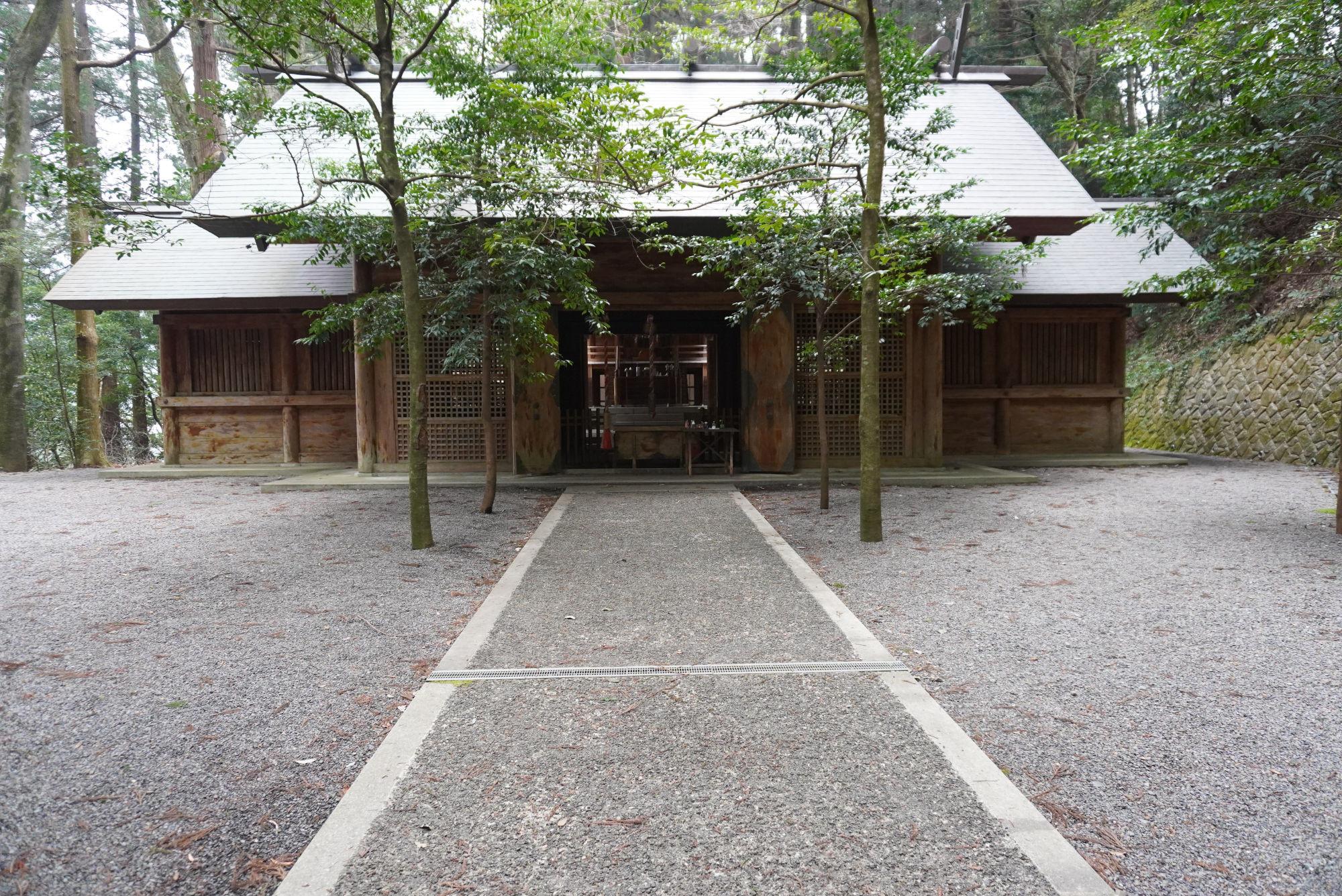 東本宮の本殿