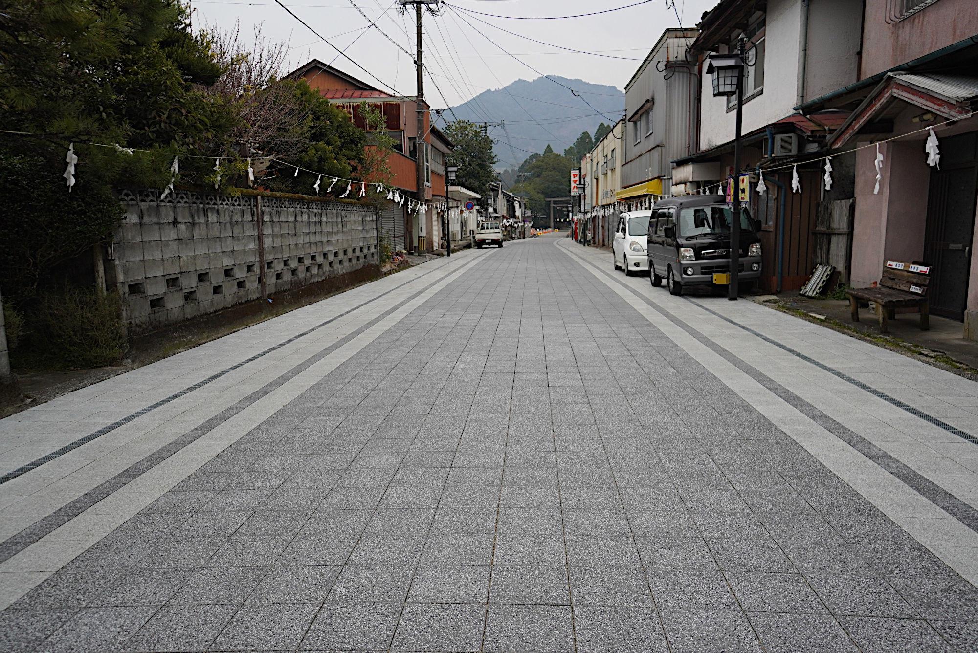 天岩戸神社の参道