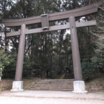 槵触神社の大鳥居