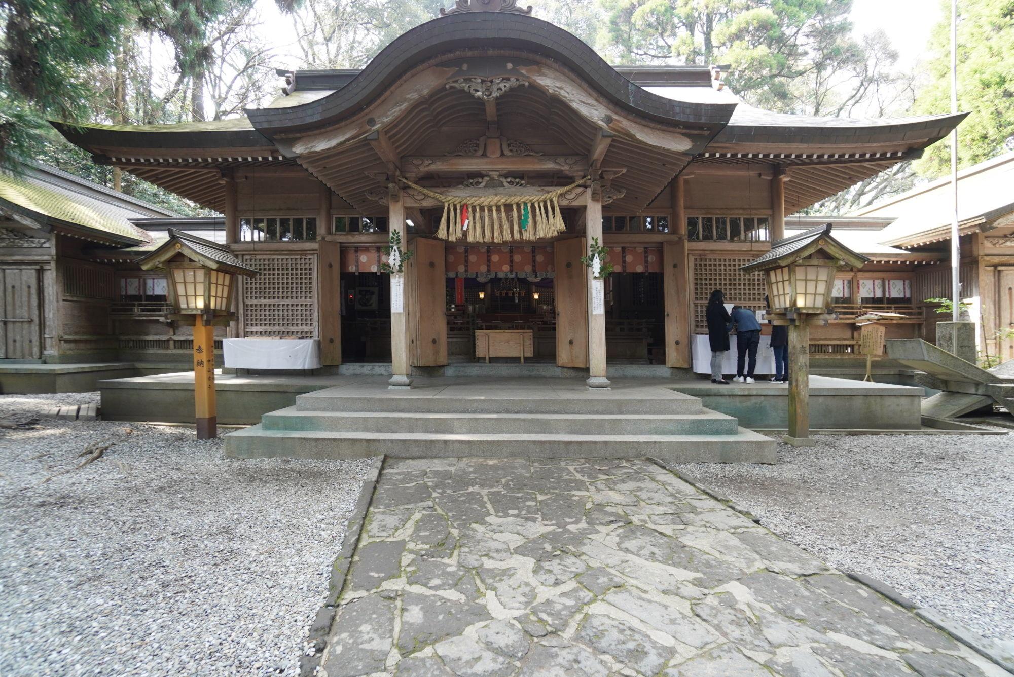 高千穂神社の拝殿