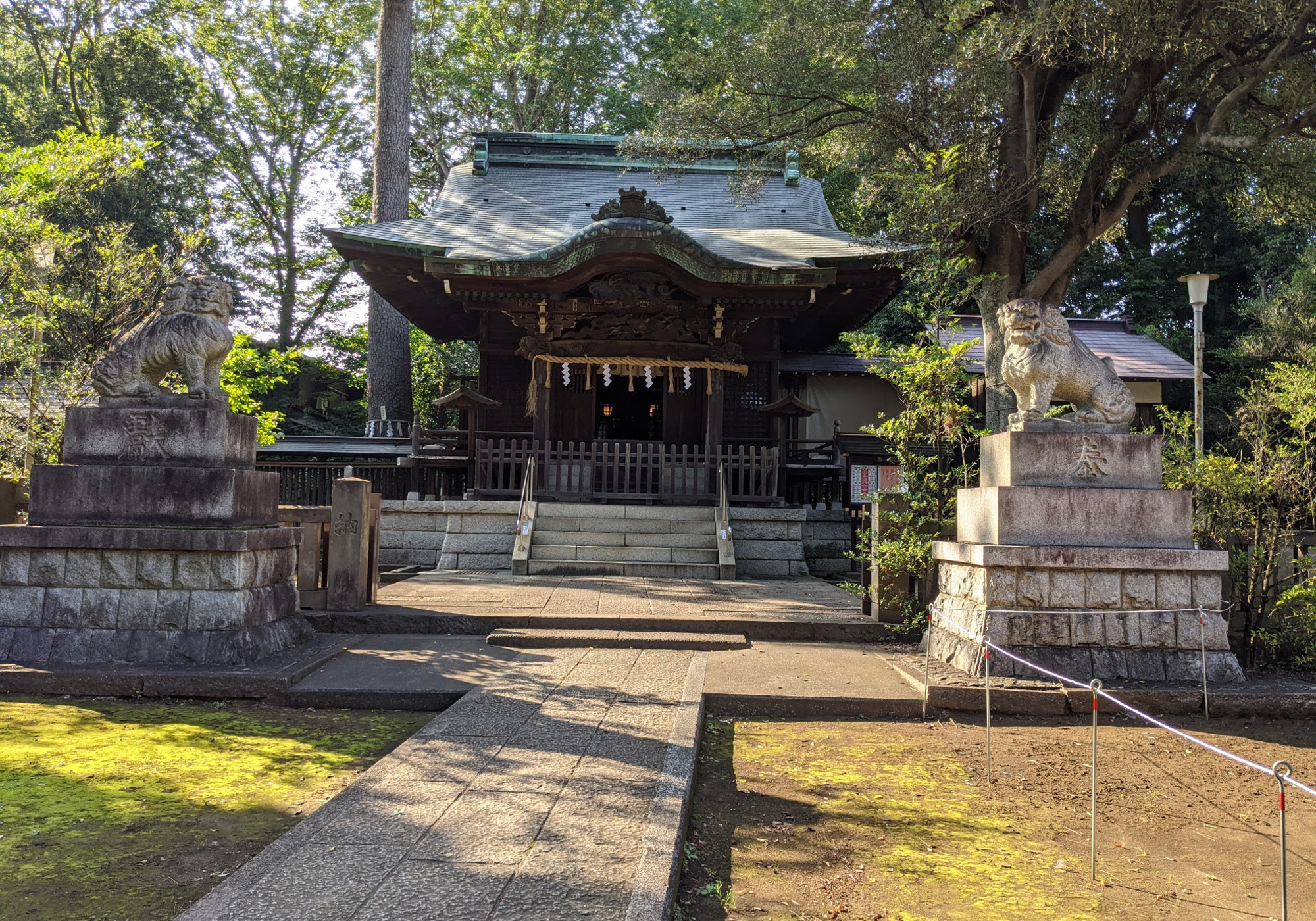 和泉熊野神社の拝殿
