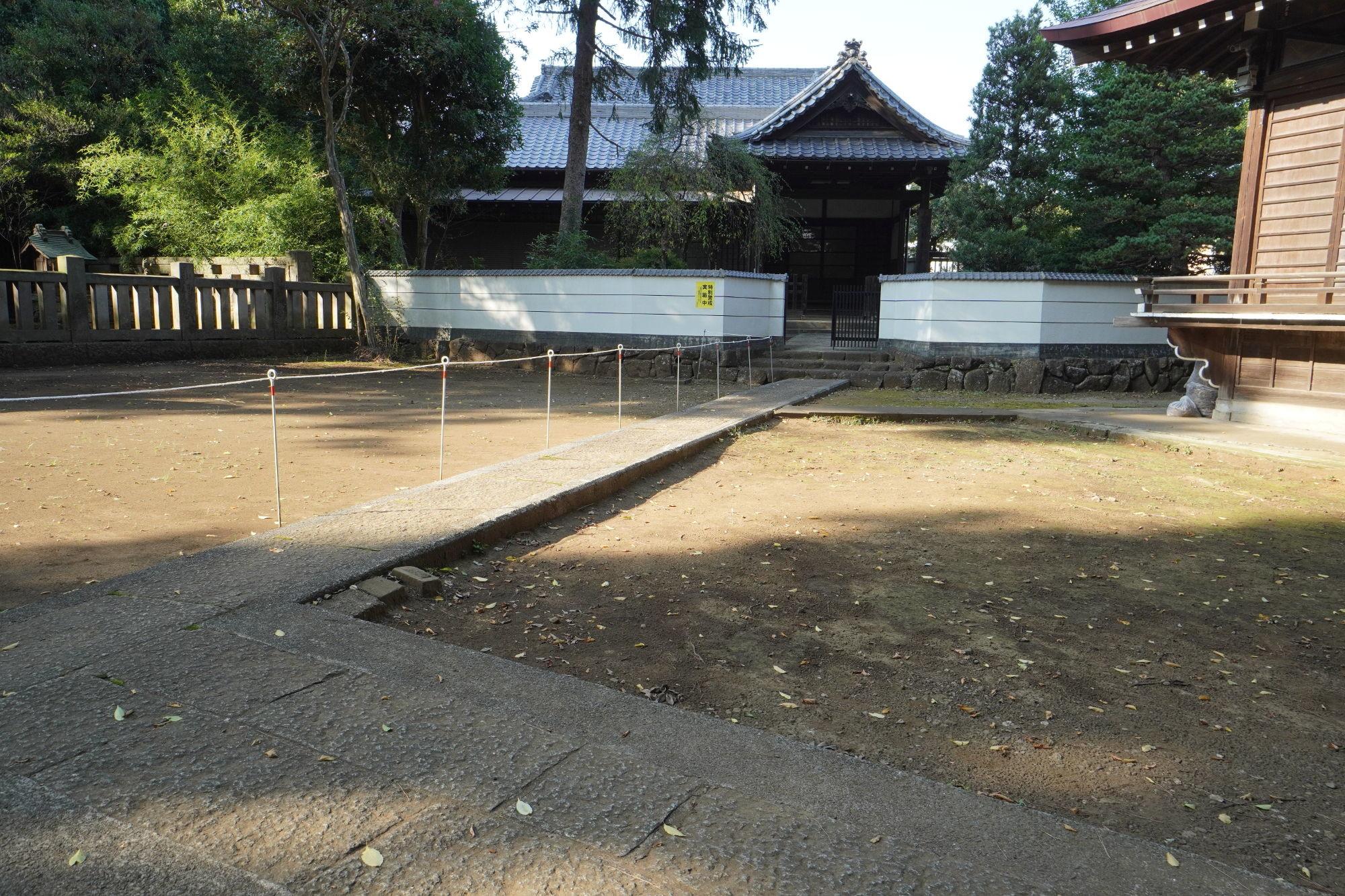 和泉熊野神社の社務所