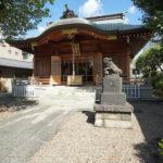 田端八幡神社の拝殿