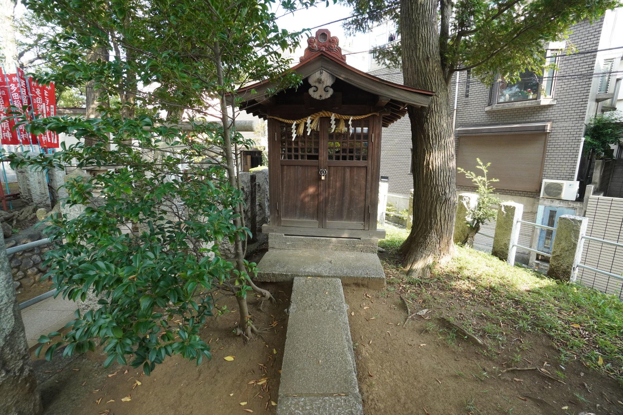三社合祀(榛名神社・御嶽神社・阿夫利神社)