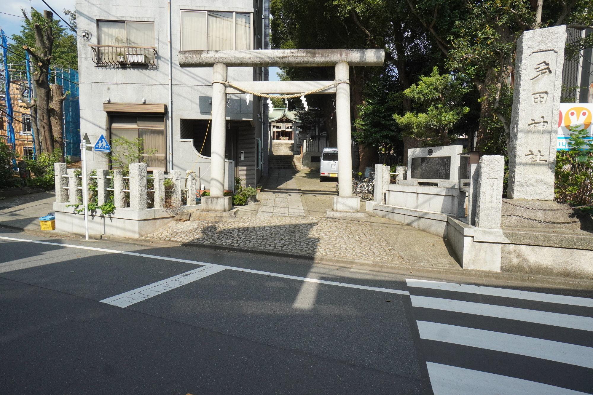 多田神社の鳥居